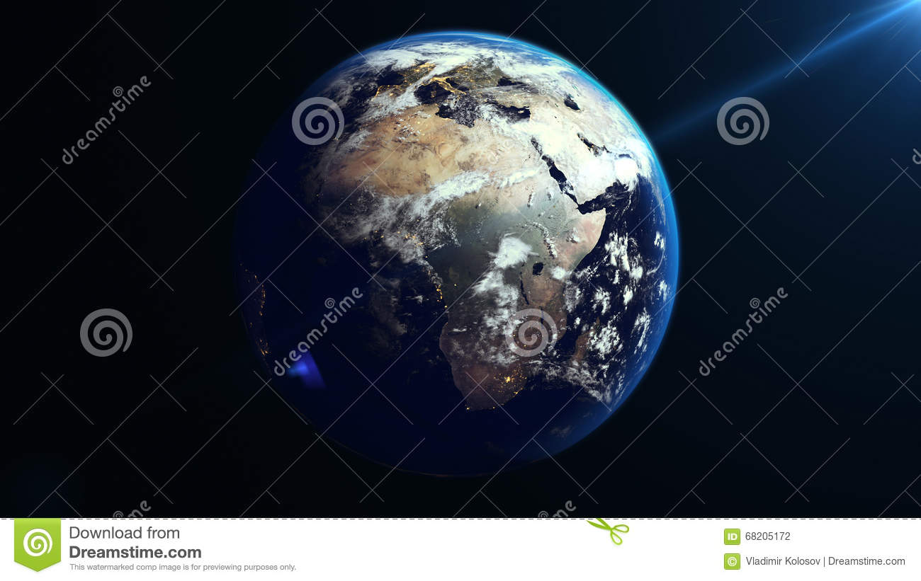 Earth rotation in space africa continent stock illustration earth rotation in space africa continent royalty free illustration gumiabroncs Images