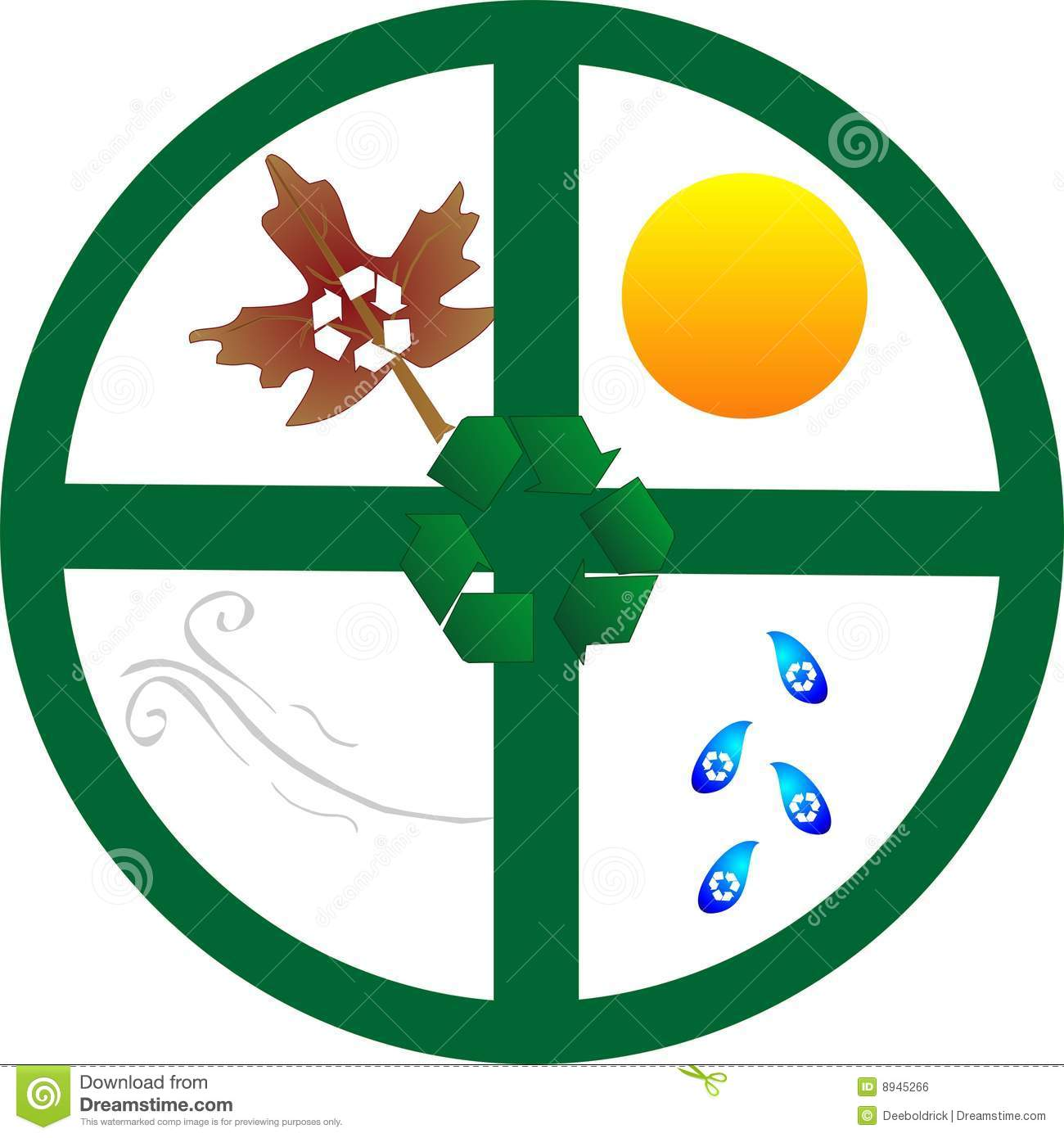 A earth 39 s recycle wheel royalty free stock image image for Earth elements organics