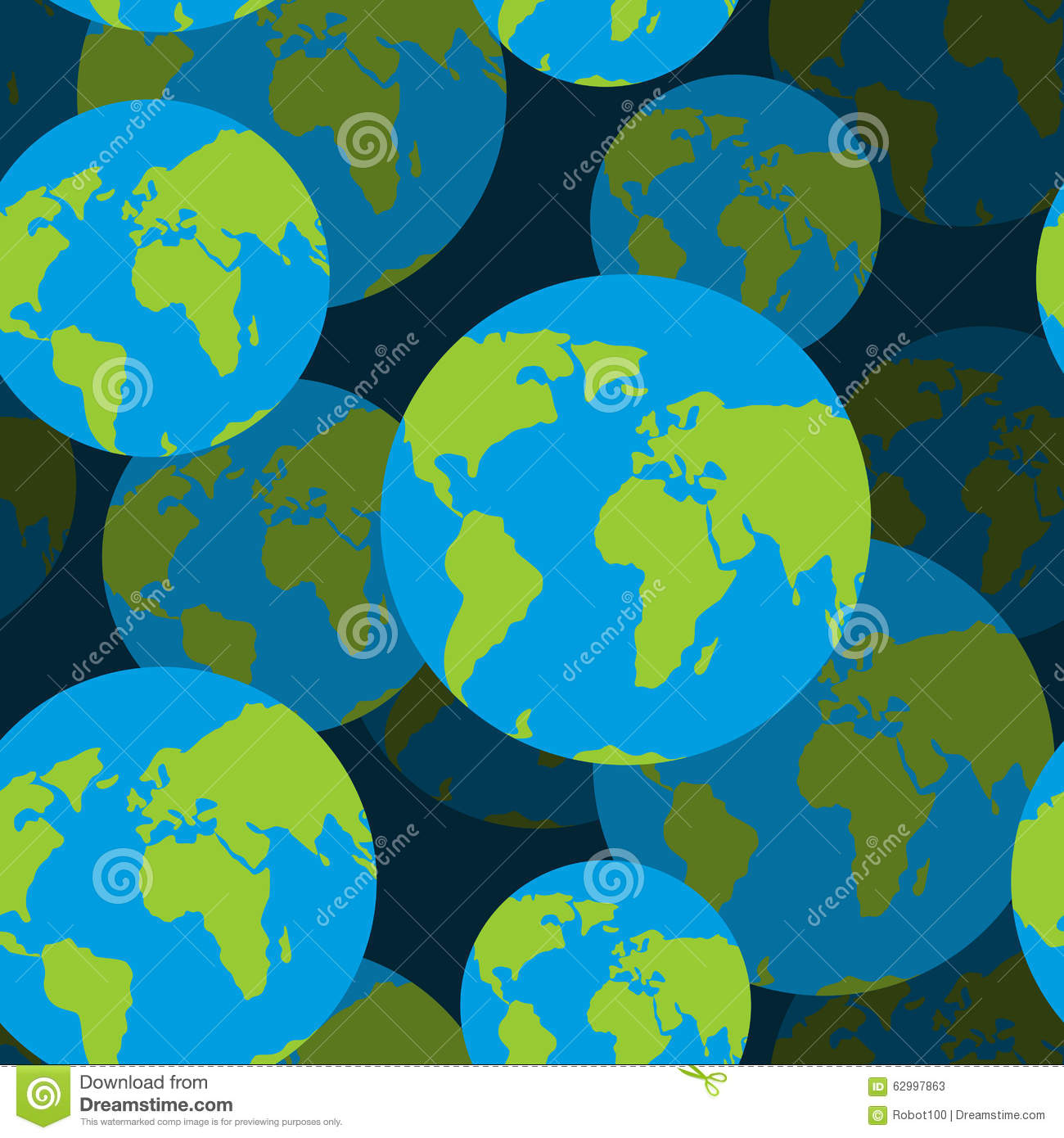 D background images - 3d Background Of Sign Of Globe Texture Stock Vector