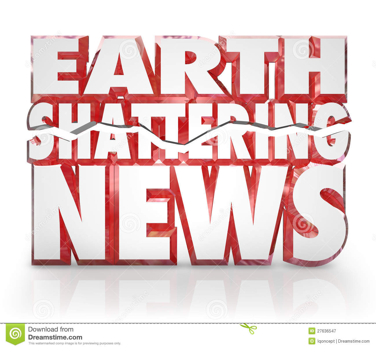 Updates News: Earth Shattering News Urgent Information Update Stock