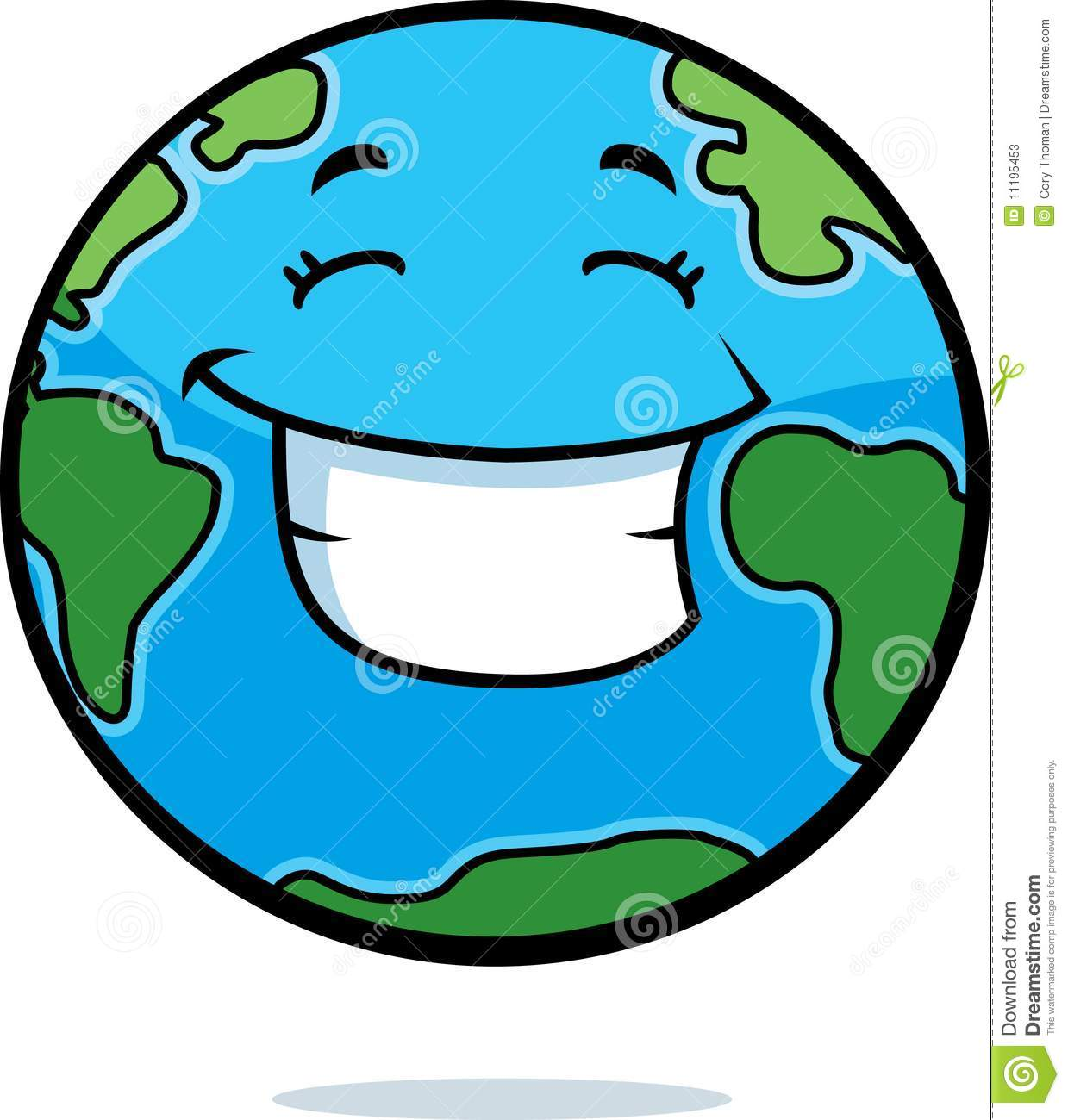 Earth Smiling Stock Photos - Image: 11195453