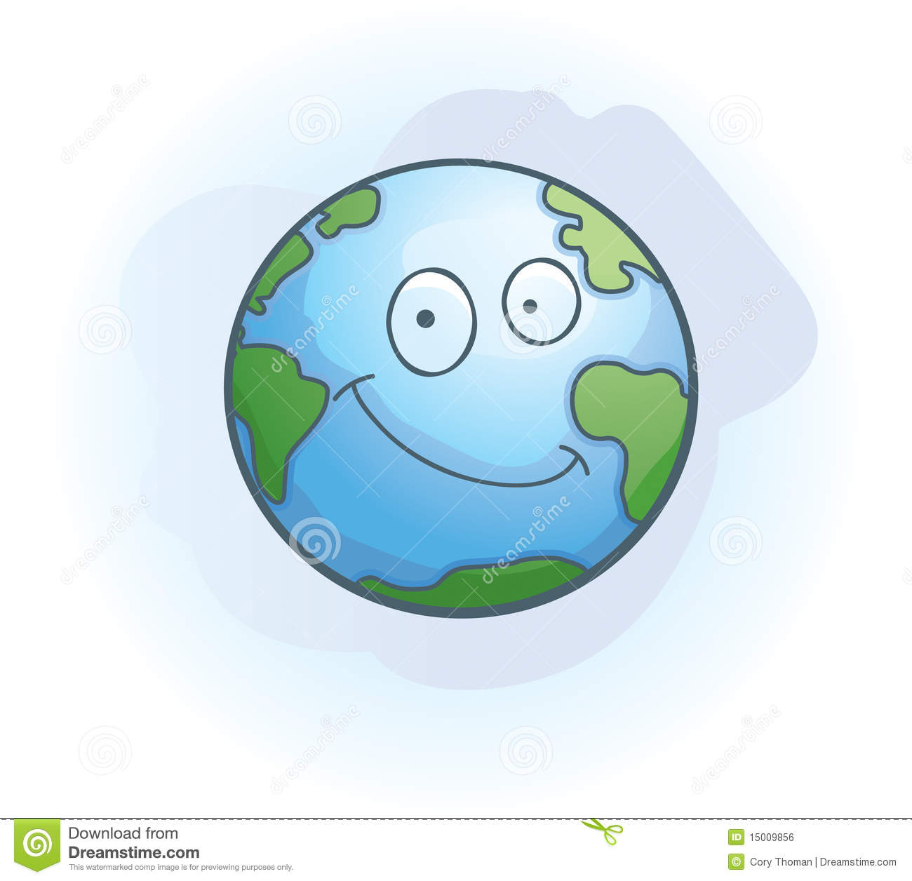 Earth Smiling Royalty Free Stock Image - Image: 15009856