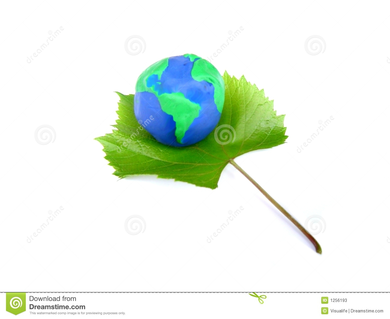 Earth And Vine, The Symbol Of Life Stock Illustration ...