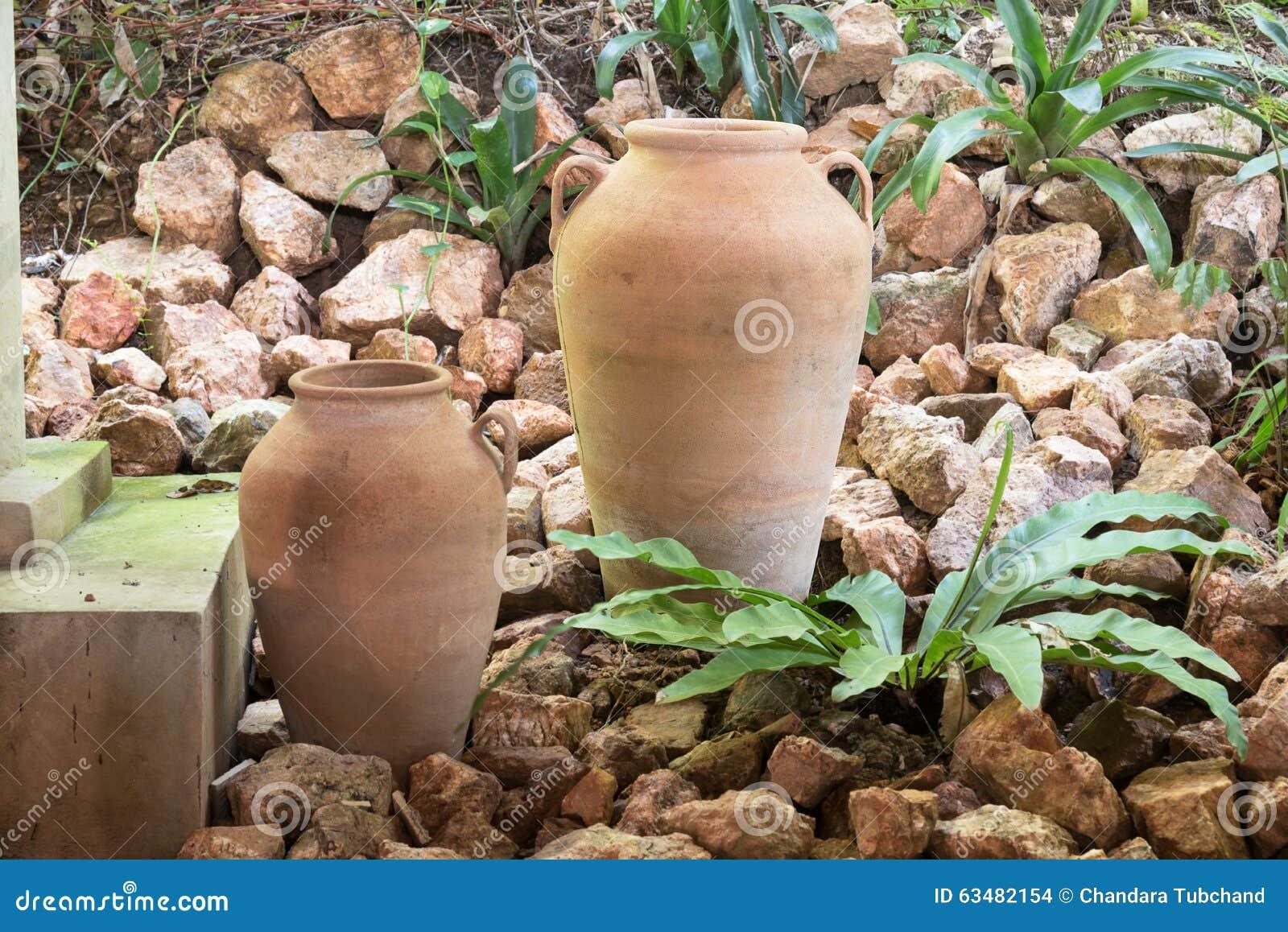 tropical garden decoration stock photo - image: 57543267
