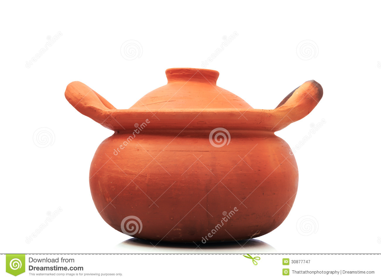 Fire Made Of Clay : Earthenware pot royalty free stock photography image