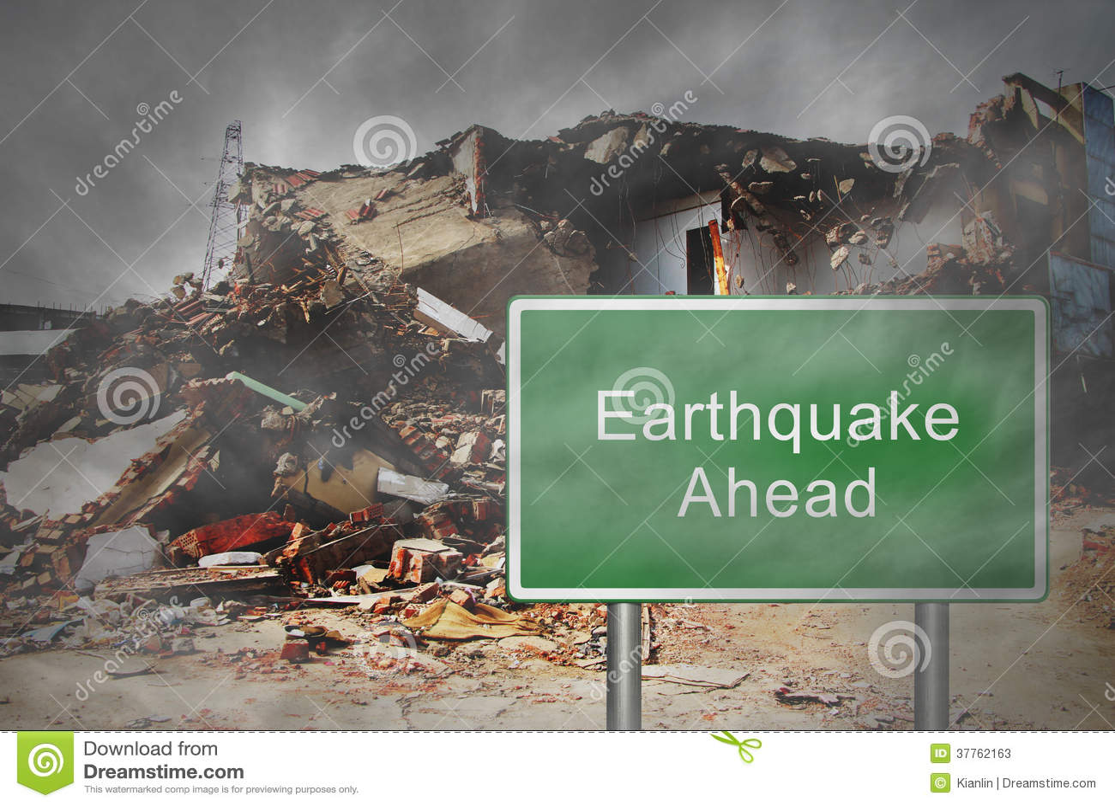 Earthquake Ahead