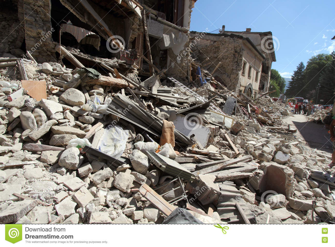 Amatrice Photo the earthquake in amatrice editorial photo. image of center - 78858406