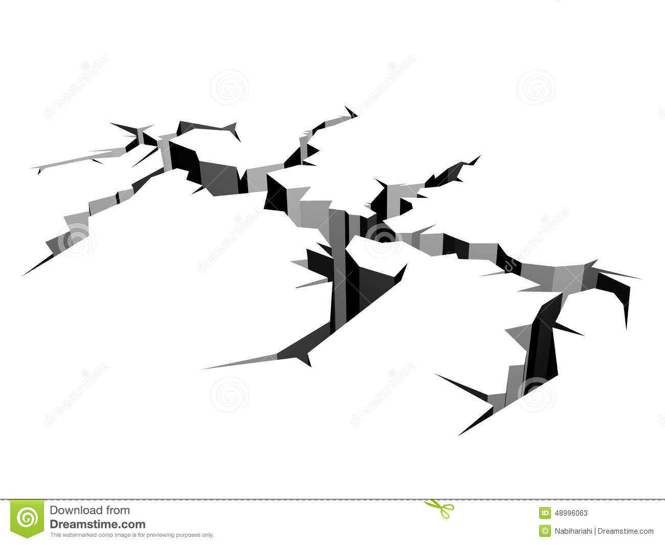 Earthquake Stock Illustration - Image: 48996063