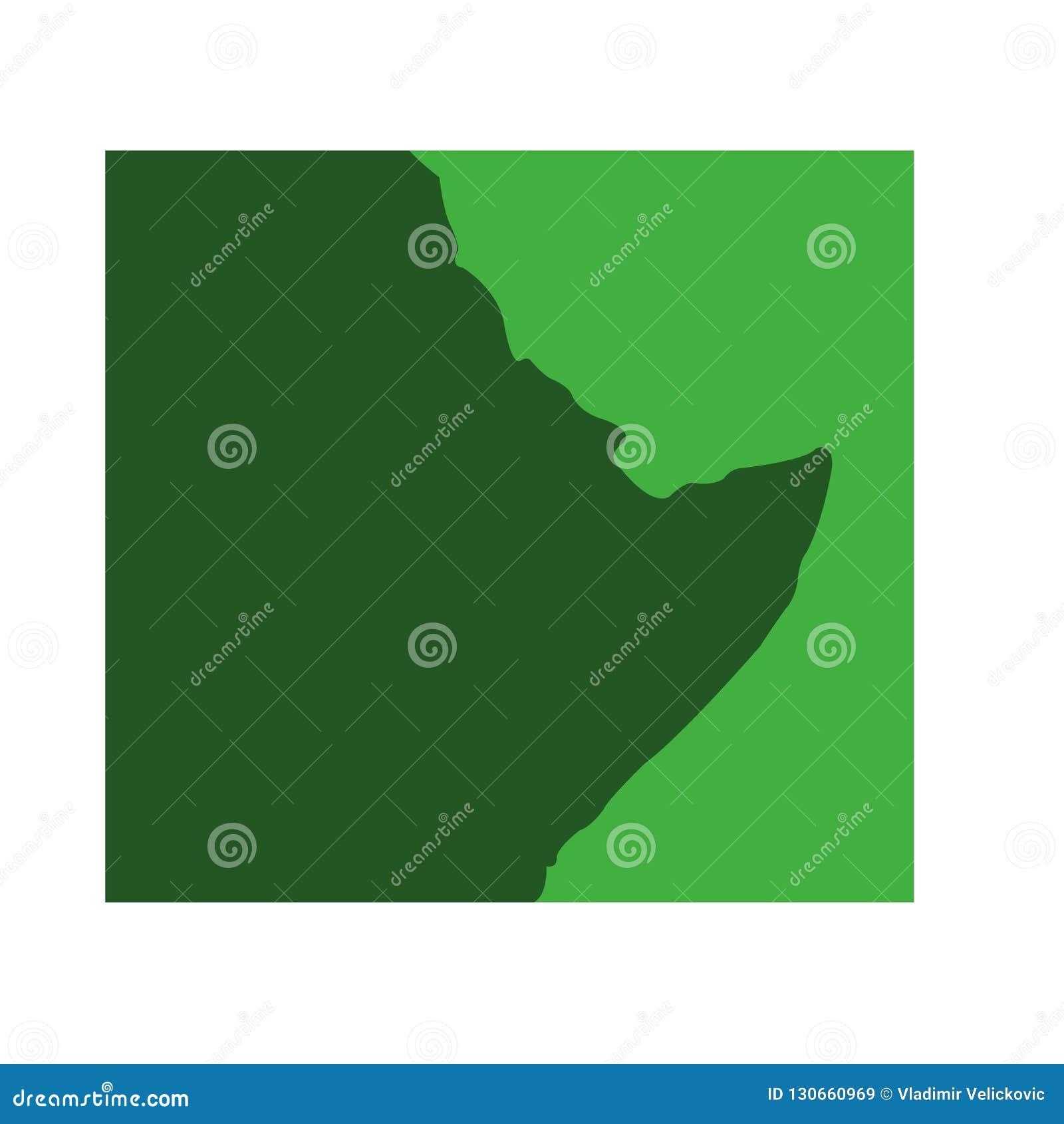 East Africa - kontinentAfrika översikt