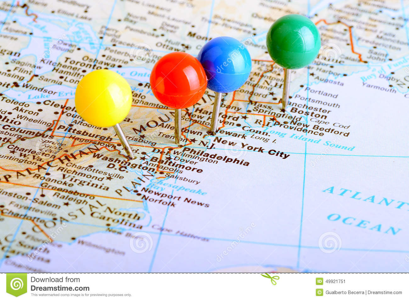 East Coast stock image. Image of country, continent, tack ...