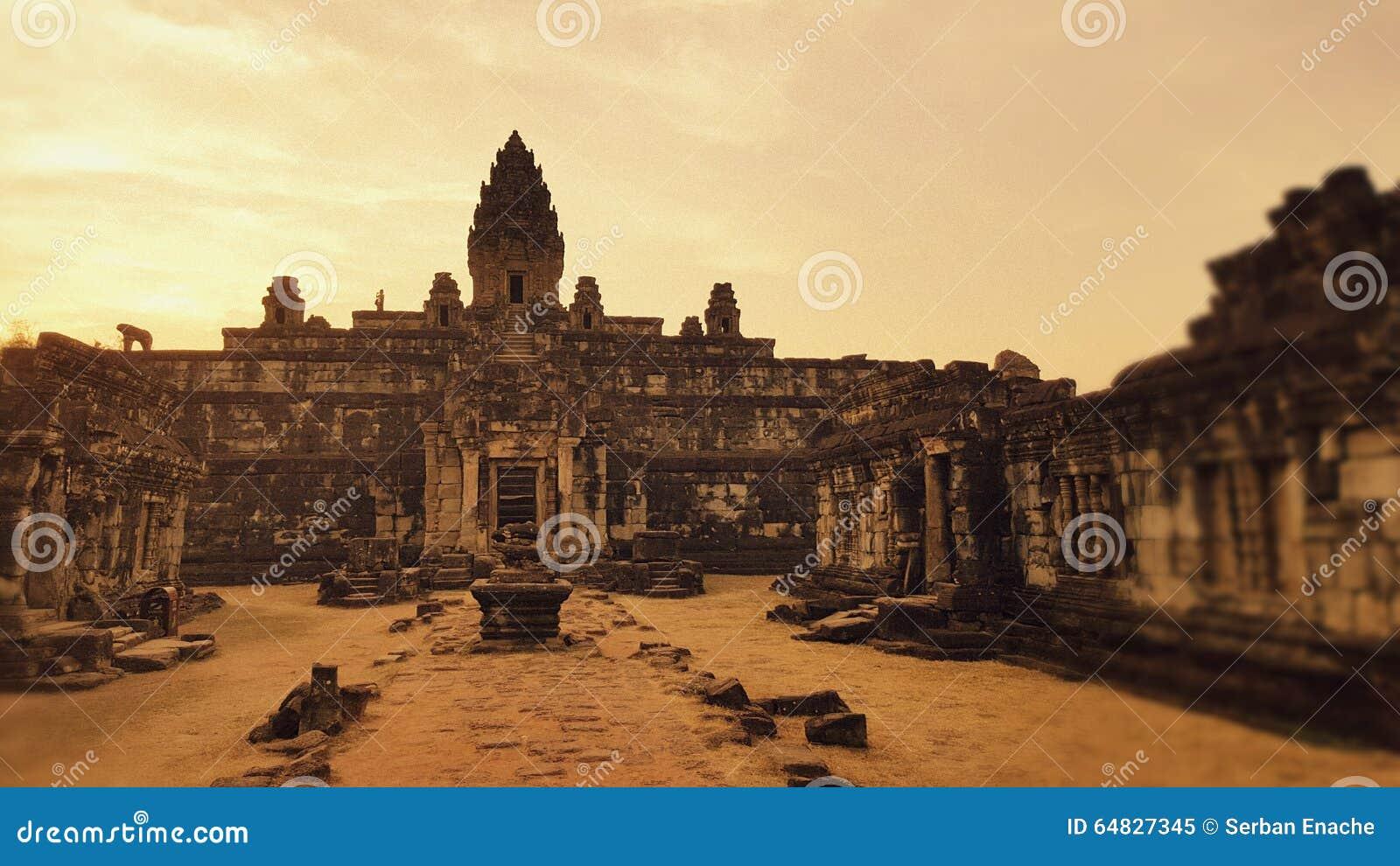 East facade, Angor Wat, Cambodia