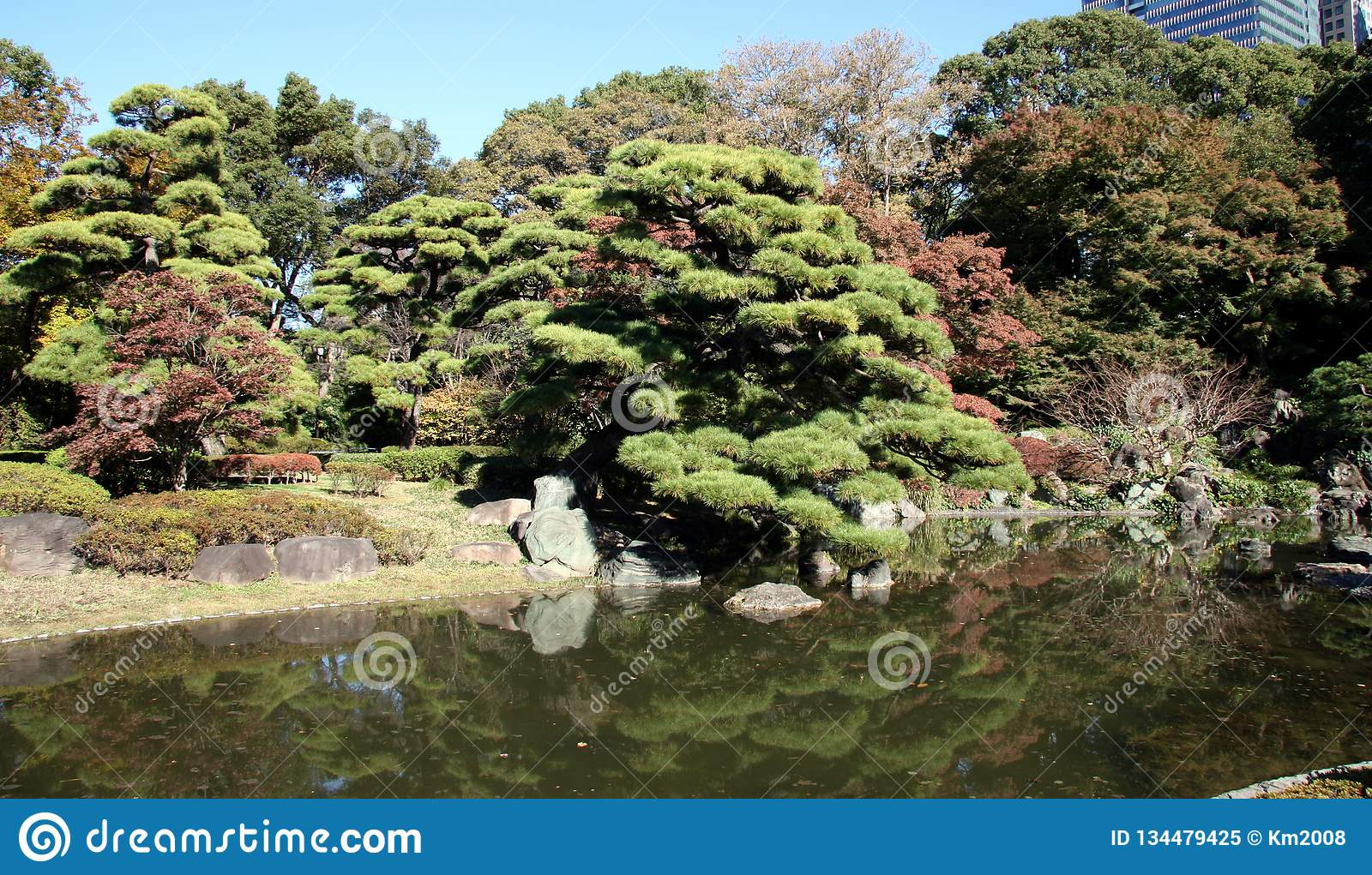 East Gardens Of Imperial Palace Tokyo Japan Stock Image Image Of Palace Garden 134479425