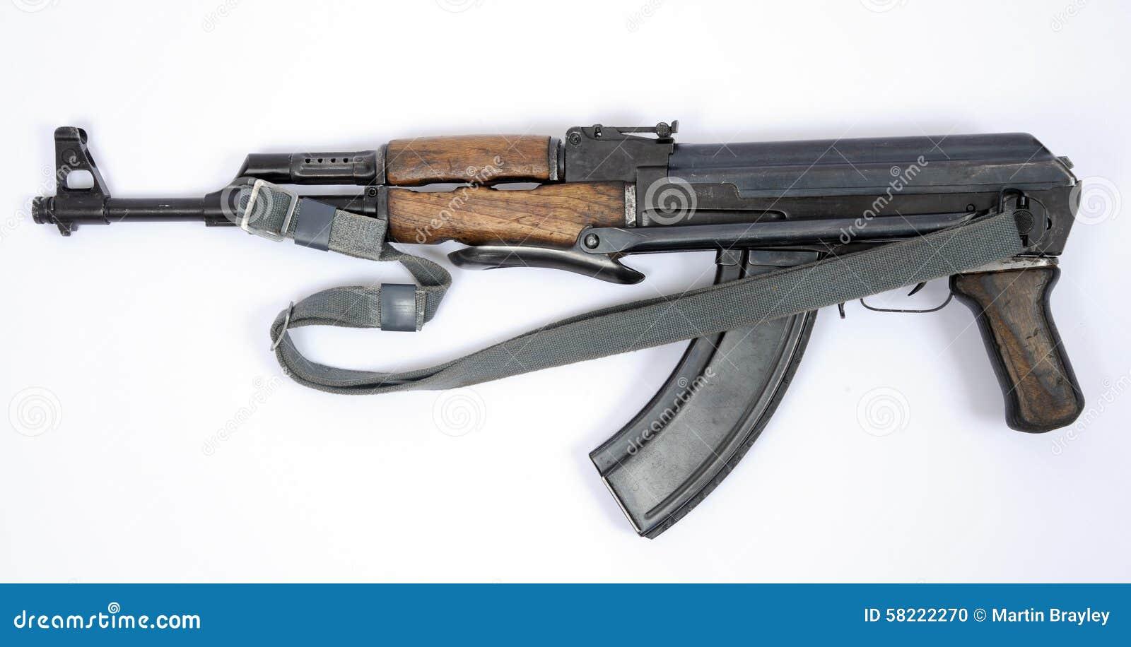 East German Kalashnikov AK47 assault rifle