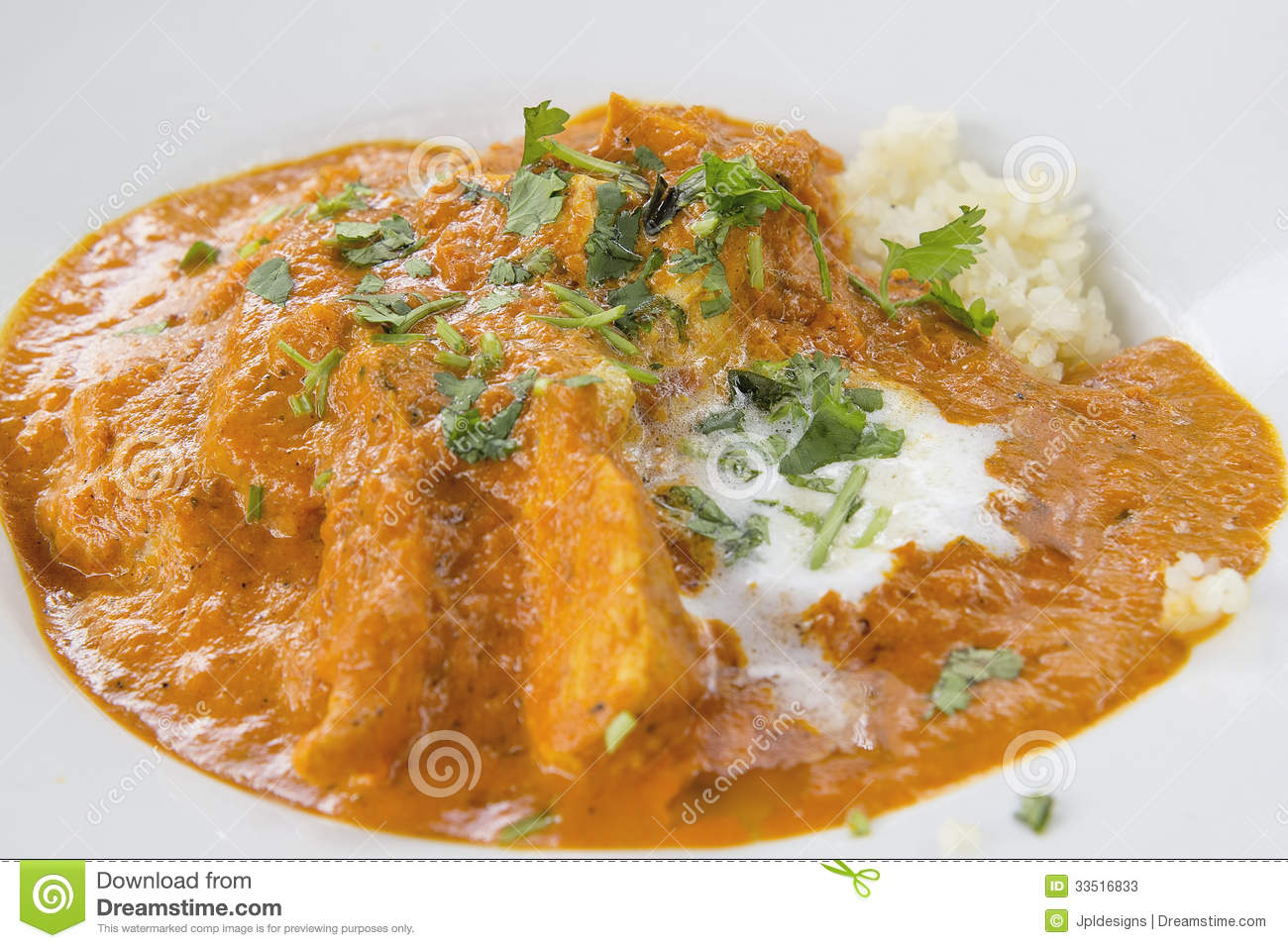 Indian Butter Chicken With Basmati Rice Recipes — Dishmaps