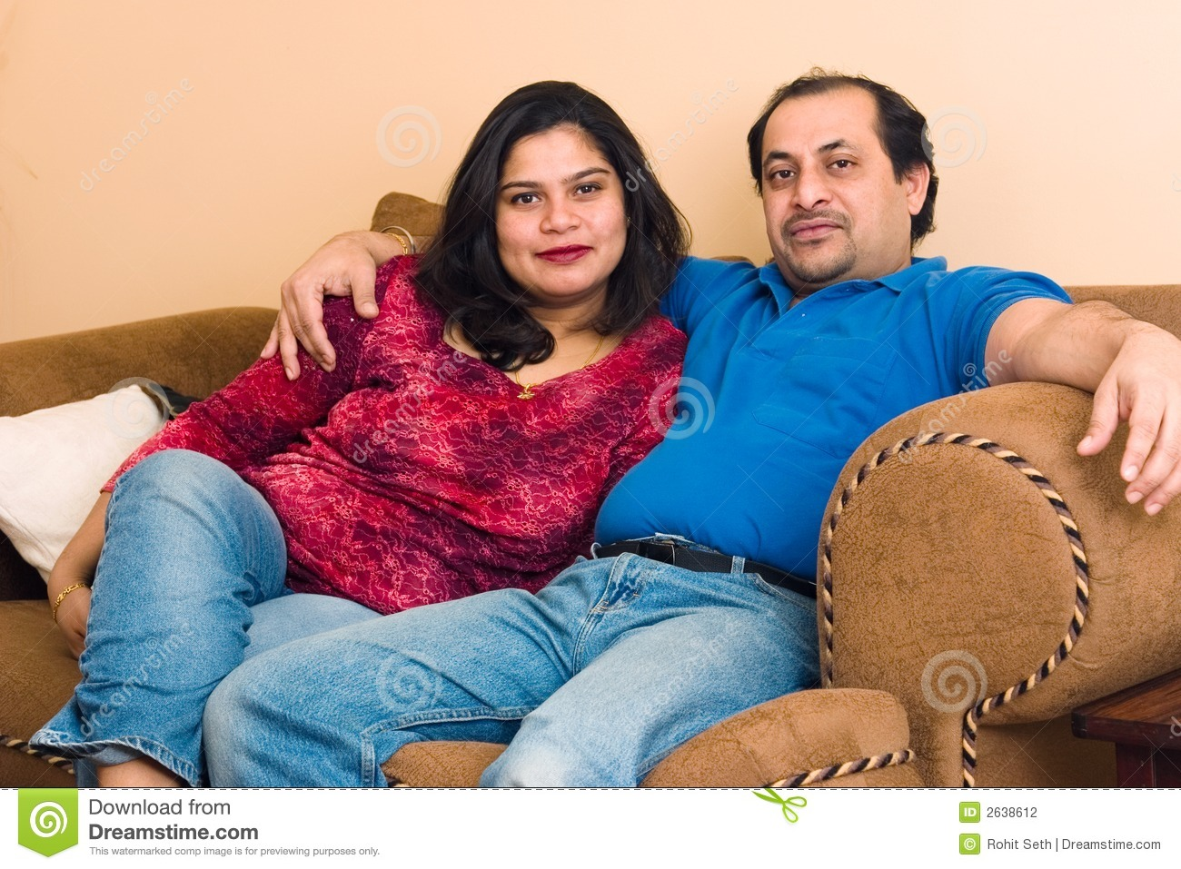 Stock Photography East Indian Couple Image2638612 on living room themes