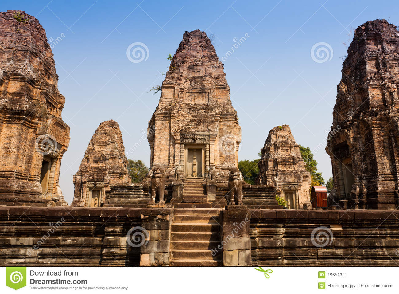 East Mebon Temple of Angkor, Cambodia