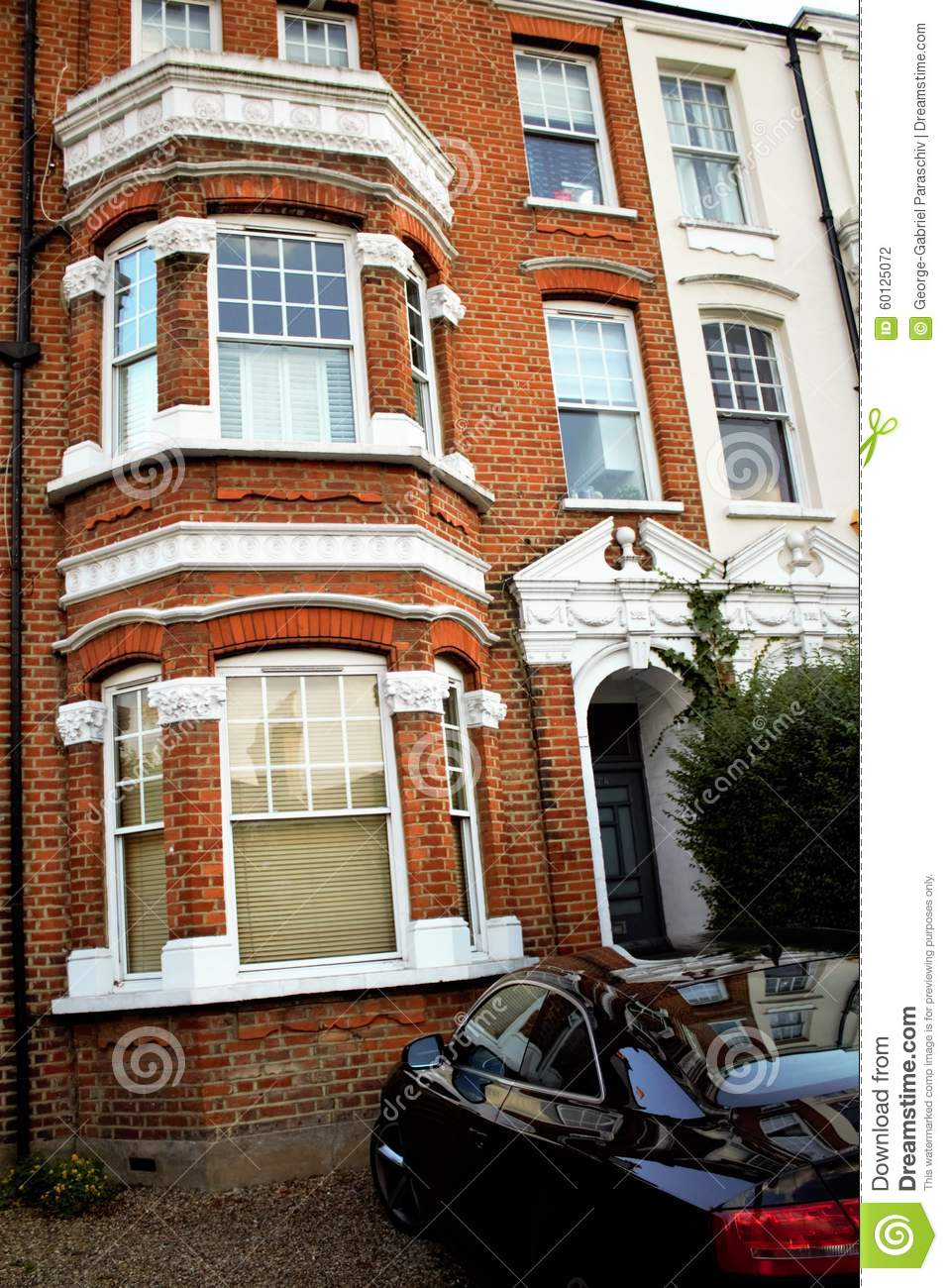 East putney vintage house stock photo image 60125072 for Classic house old street london