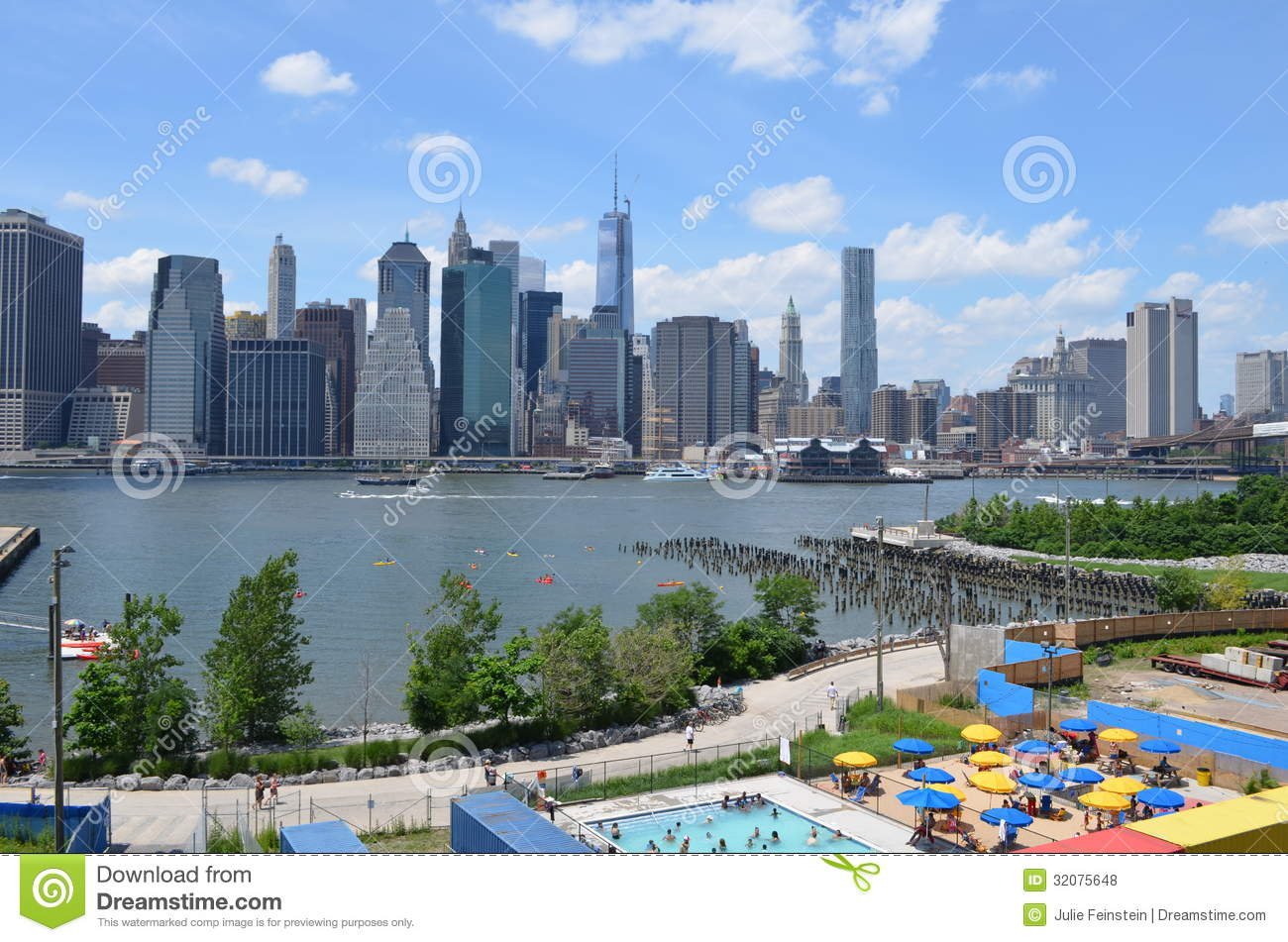 East River New York City Editorial Stock Photo Image