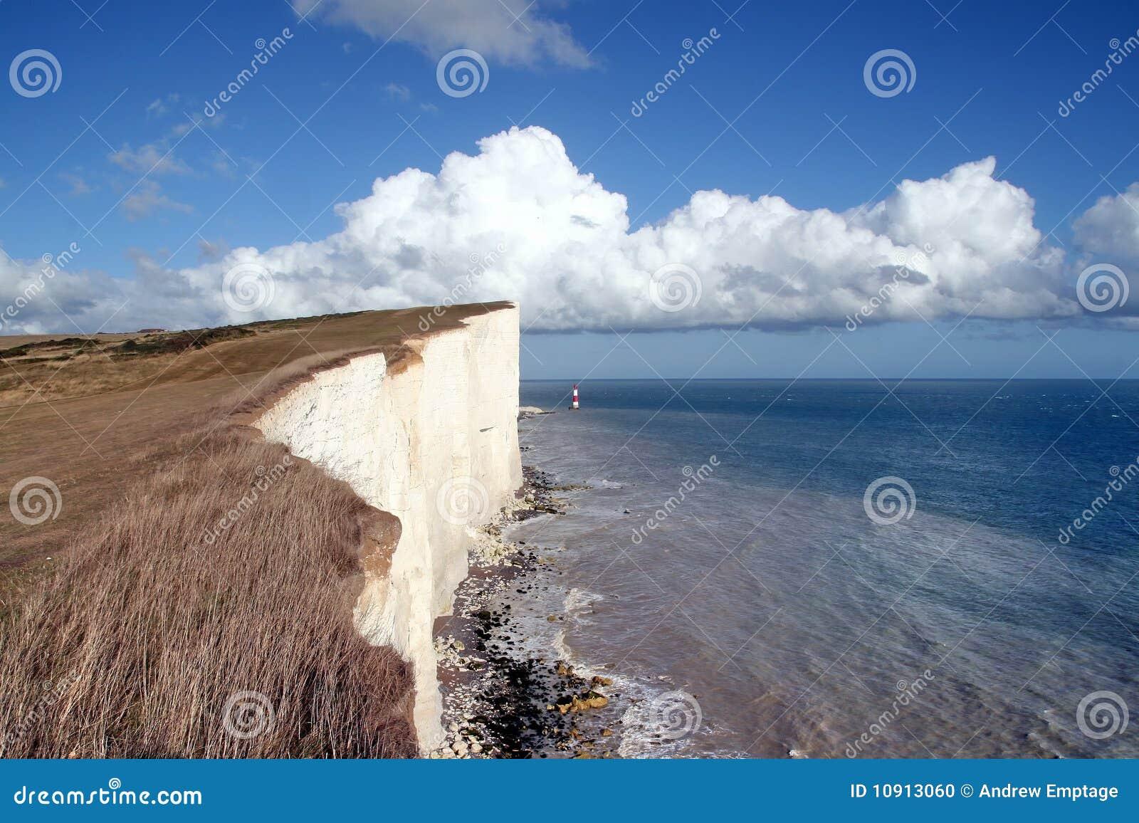 Eastbourne, Sussex, pista con playas
