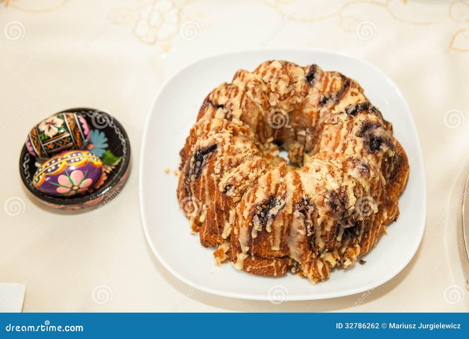 Ukraine Babka Cake