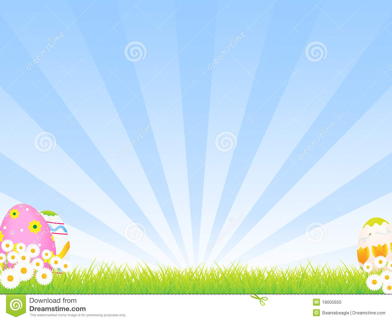 Easter Background Stock Photo Image 19005650