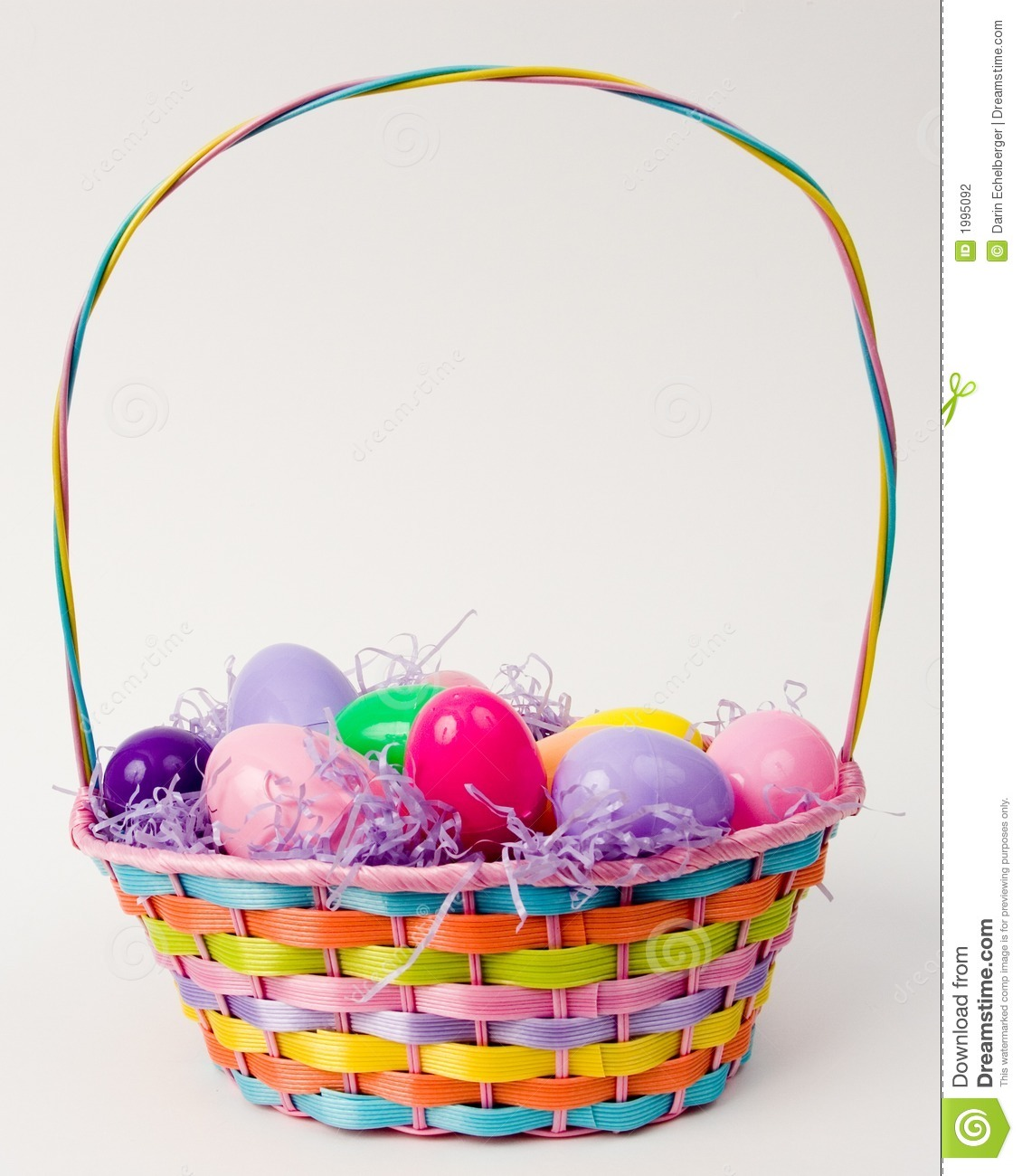 Easter Basket Stock Photography - Image: 1995092