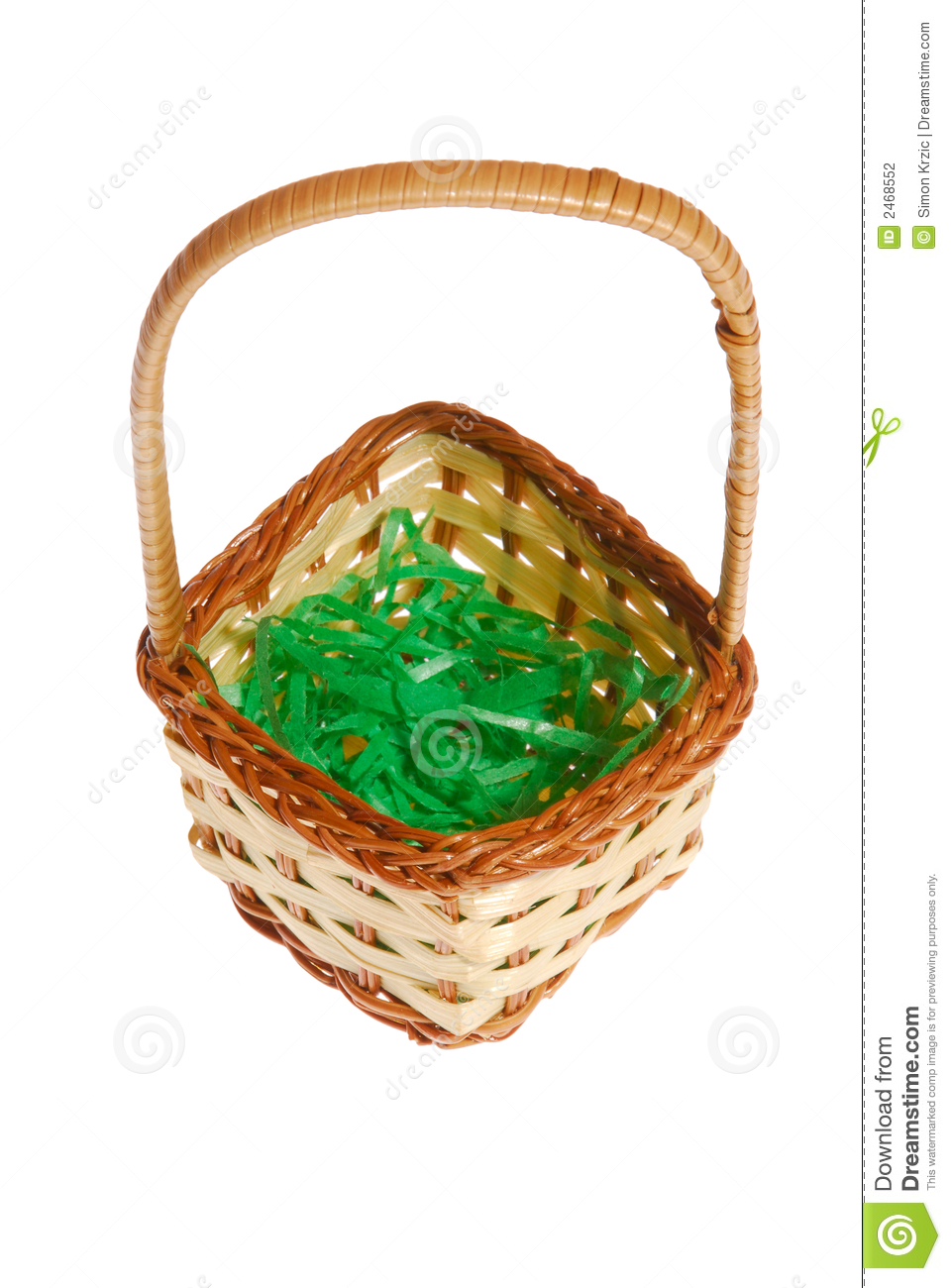 Easter Basket Stock Photography Image 2468552