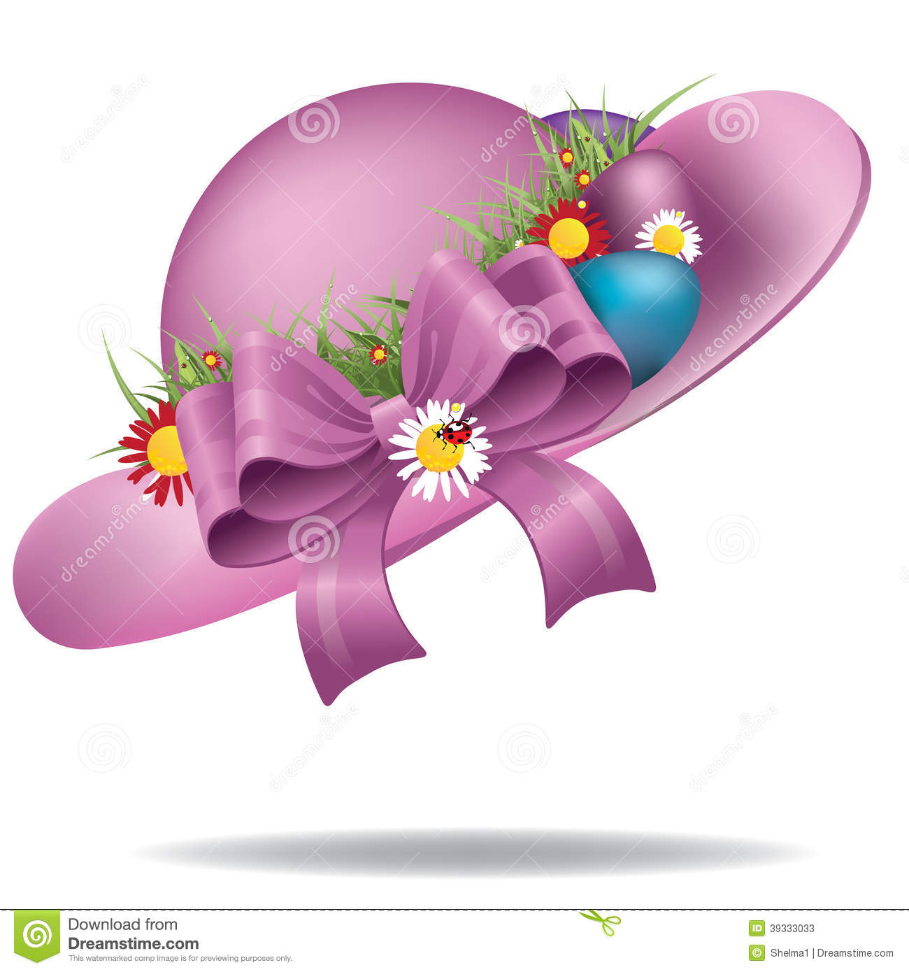 clipart easter bonnets - photo #33