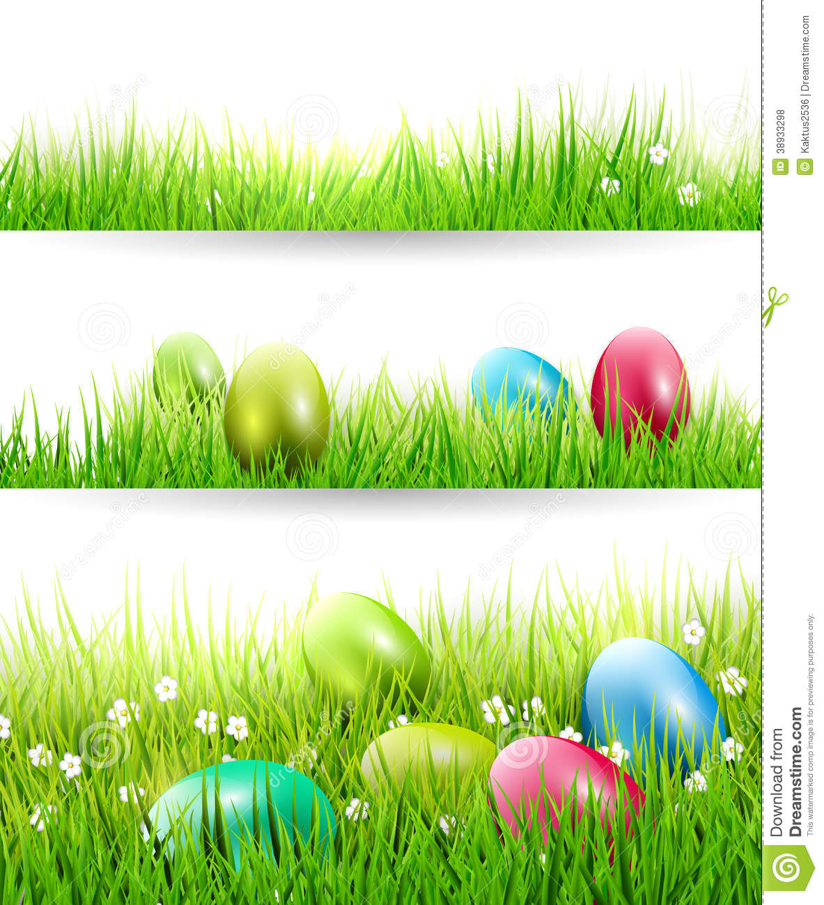 Easter Borders Stock Vector Image Of Foliage Design