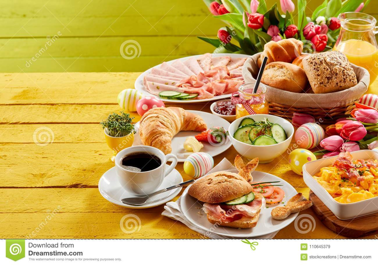 easter buffet breakfast or brunch stock image image of approaching rh dreamstime com easter brunch buffet easter breakfast buffet near me