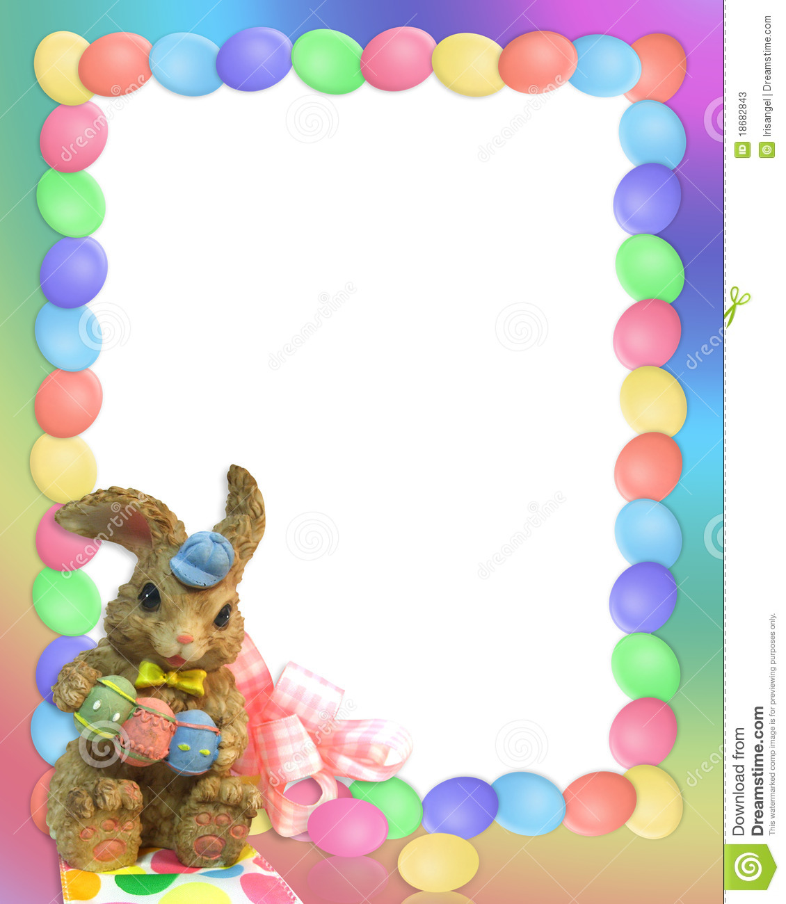 ... , stationery or holiday background with copy space and cute bunny