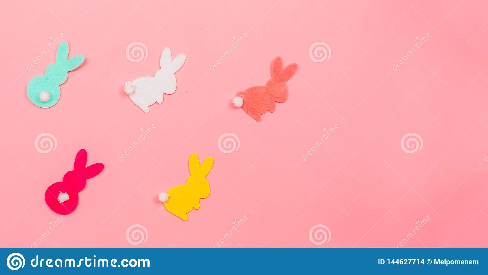 Easter bunny decoration holiday theme