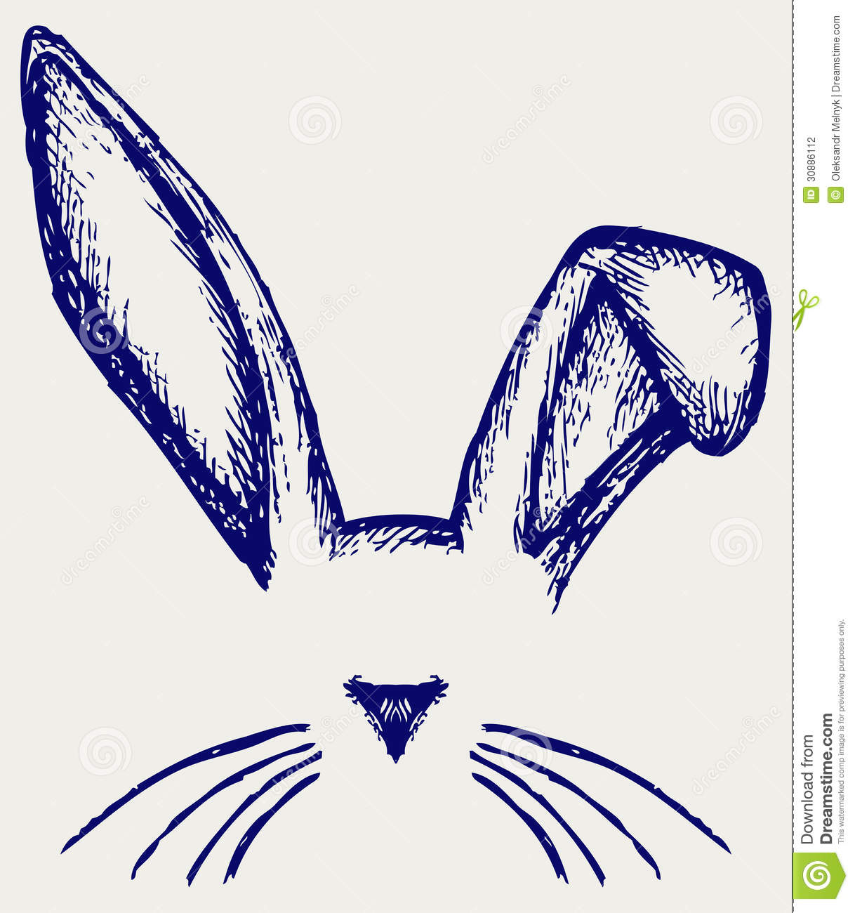 Easter Bunny Ears Stock Photography - Image: 30886112