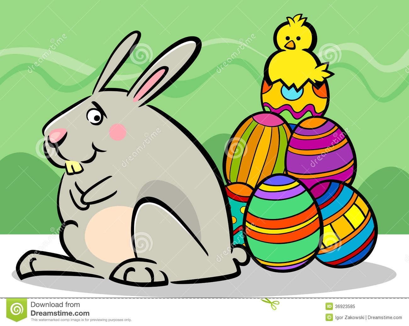 These free Easter clip art images include Easter animals such as bunnies and chicks lots of Easter eggs kids having fun on Easter springtime flowers crosses Easter baskets birds and much more
