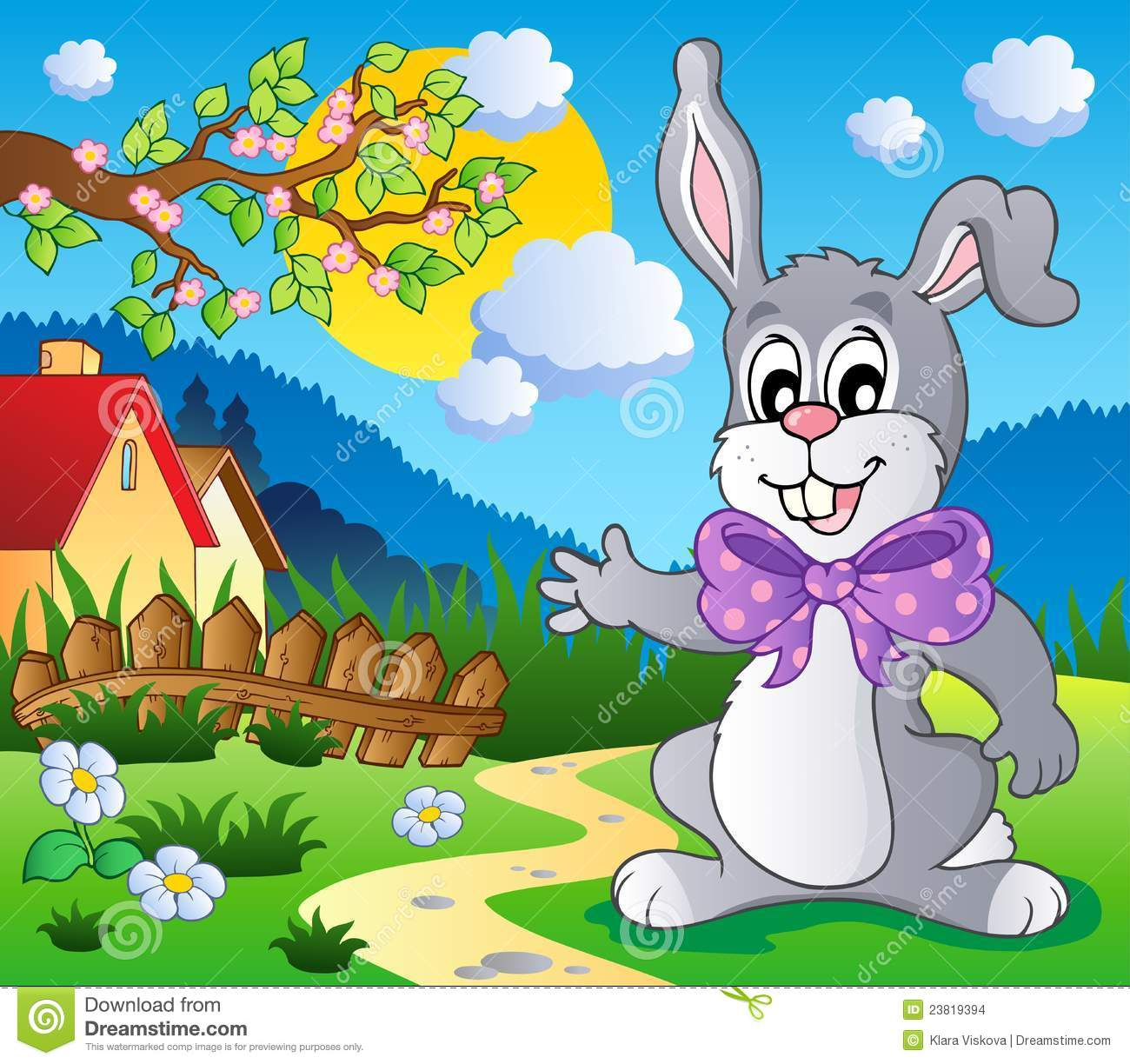Easter Bunny Theme Image 5 Stock Images Image 23819394