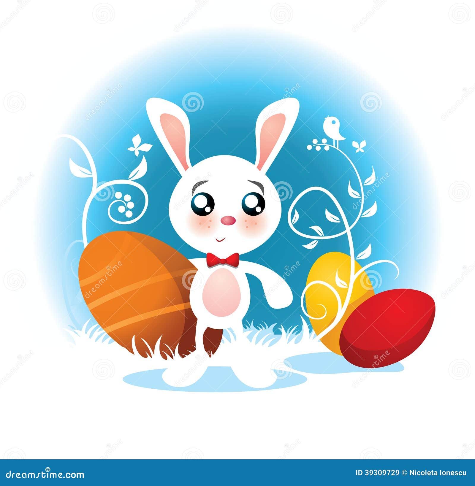 Easter Bunny Vector Ca...