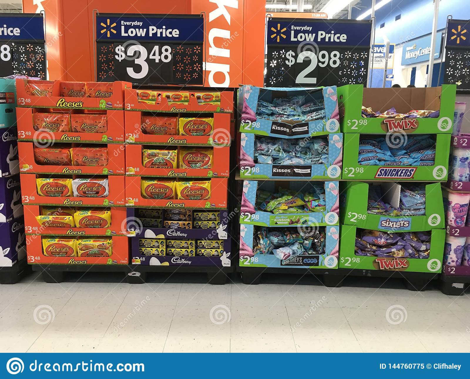Easter Candy For Sale In Store Editorial Image Image Of Twix Food 144760775