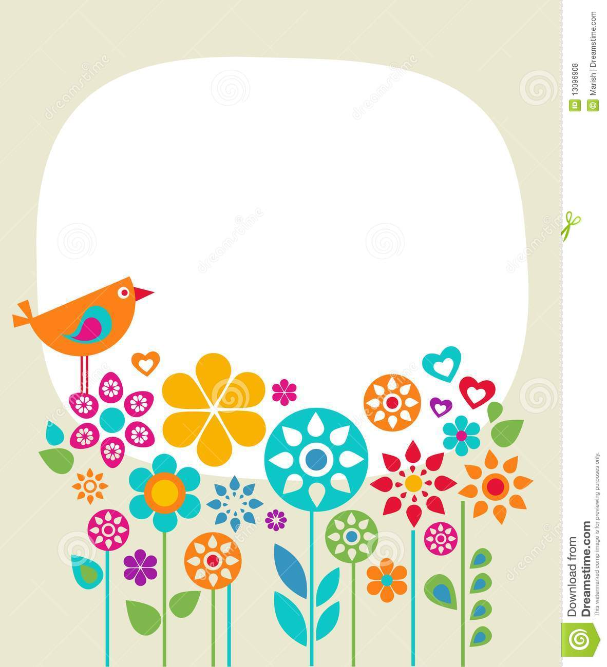 card template free - easter card template 1 stock illustration illustration