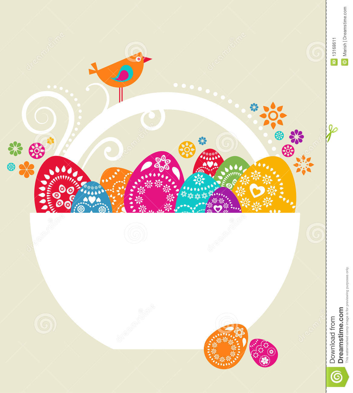 Easter card template 9 stock vector illustration of animals download easter card template 9 stock vector illustration of animals 13168611 m4hsunfo