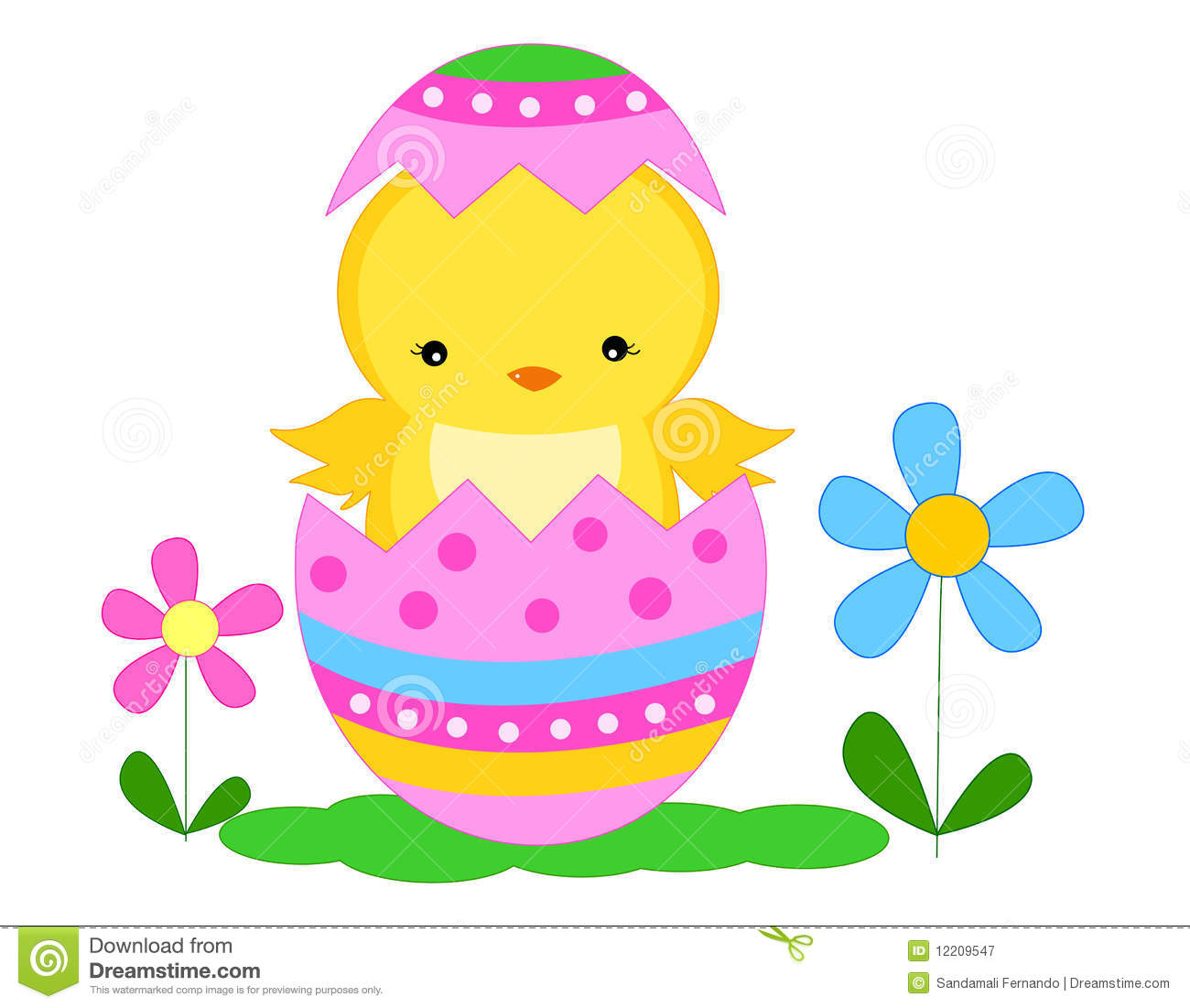 Easter Chick Royalty Free Stock Photography Image 12209547