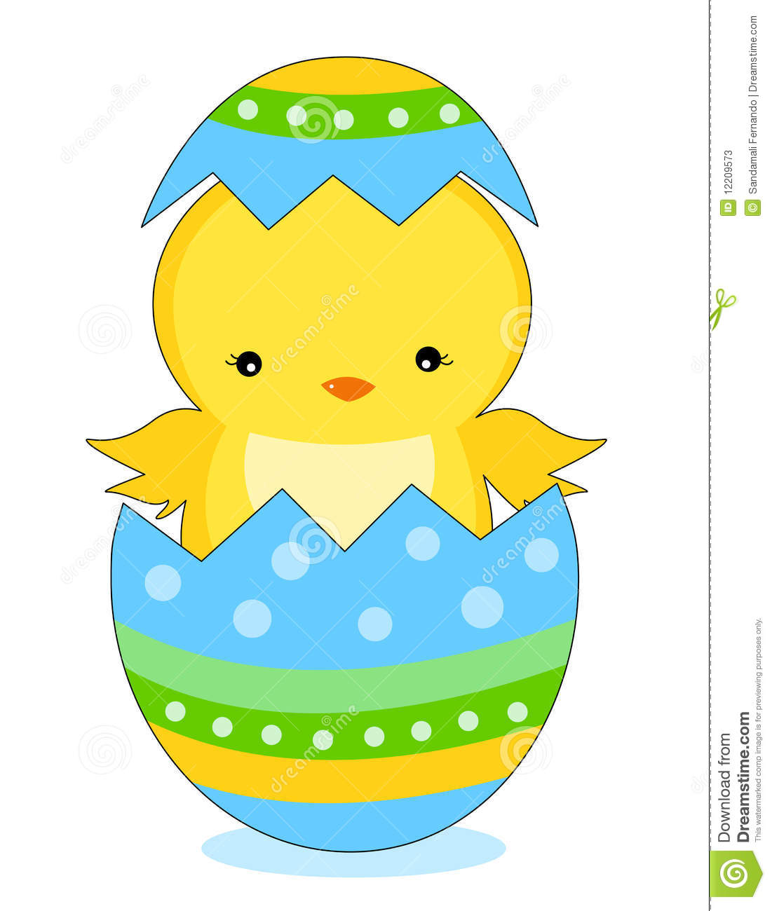 easter chick stock vector illustration of chicken dyed 12209573 rh dreamstime com easter chick clipart free easter chick clipart black and white
