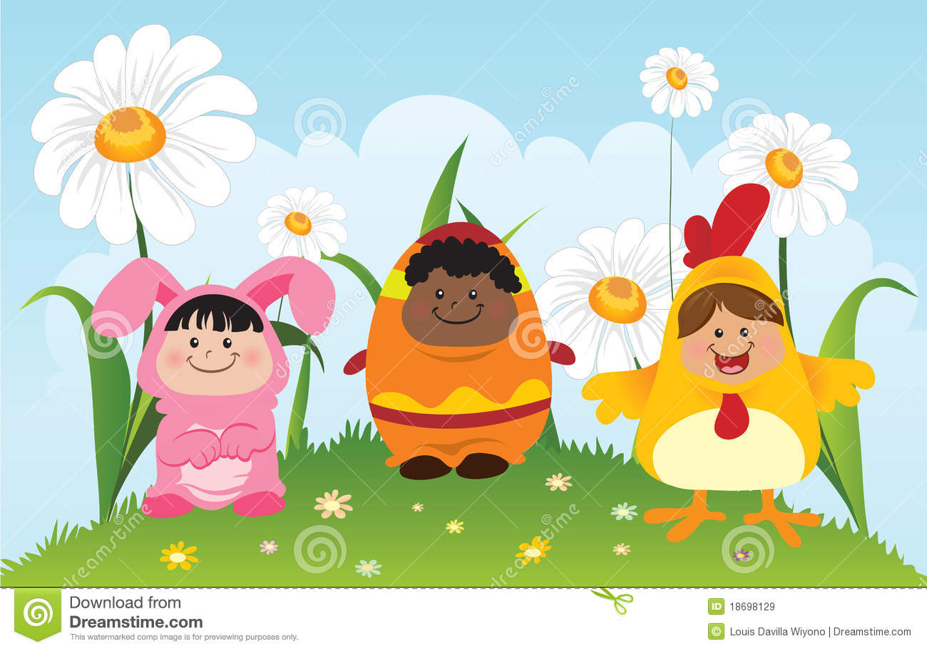 Easter Children Royalty Free Stock Images Image 18698129