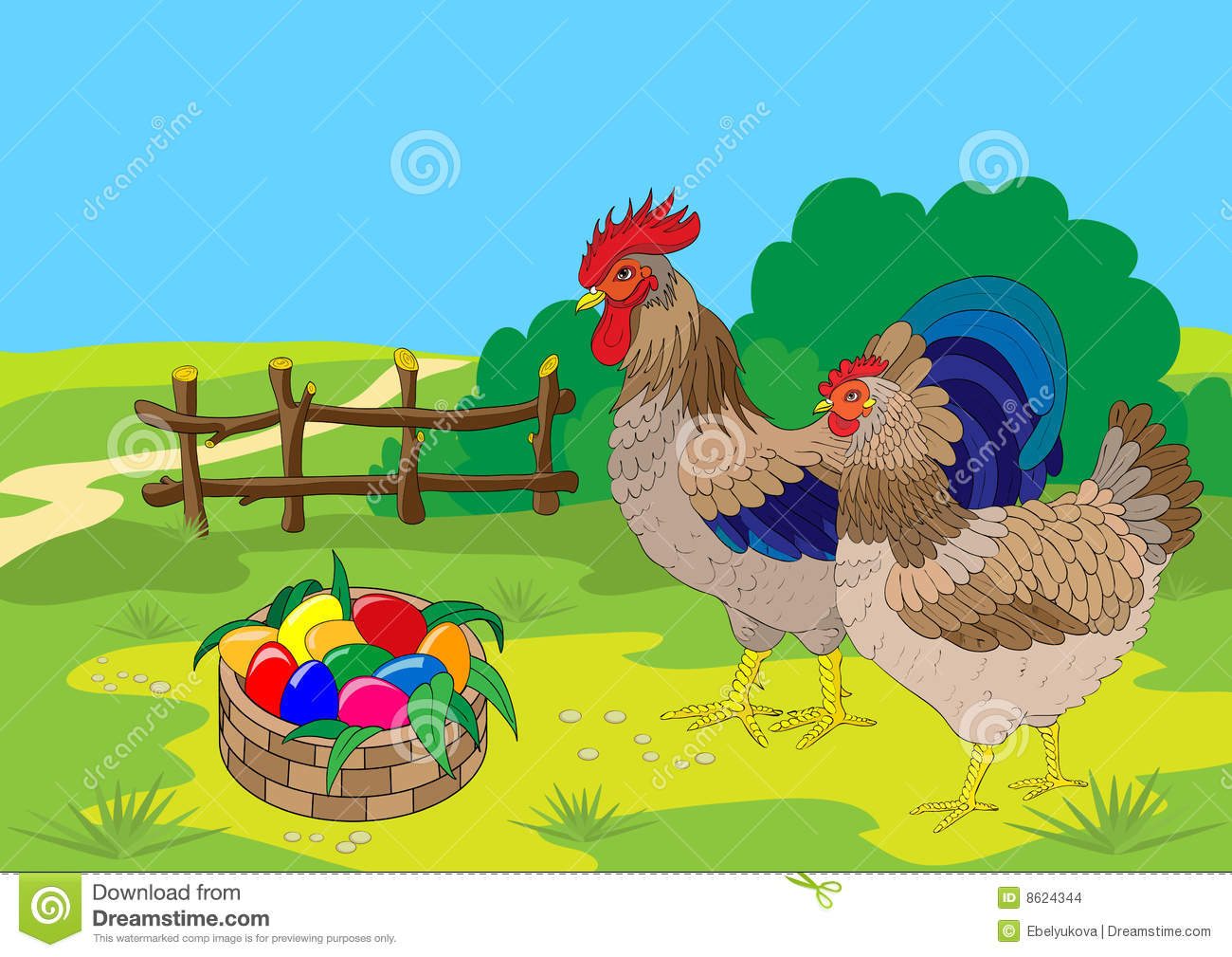 Cock Balls Colored As Easter Eggs 61