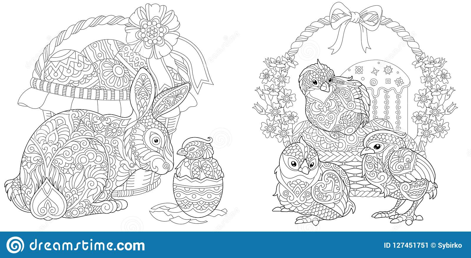 Easter Coloring Pages | 878x1600