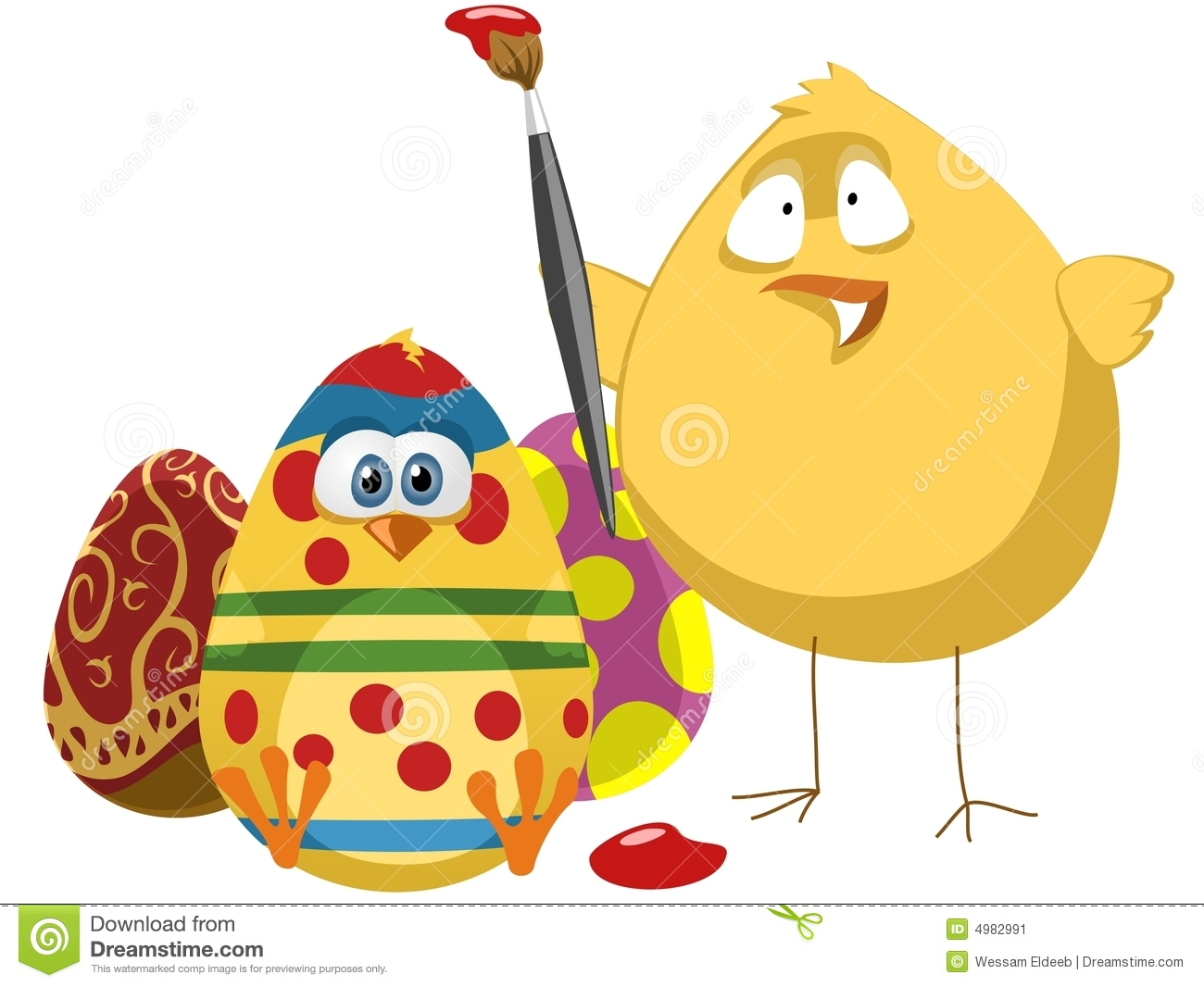 Easter colors stock image image 4982991 - What are the easter colors ...