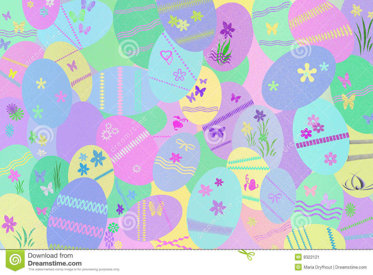 Easter colors stock image image 8322121 - What are the easter colors ...