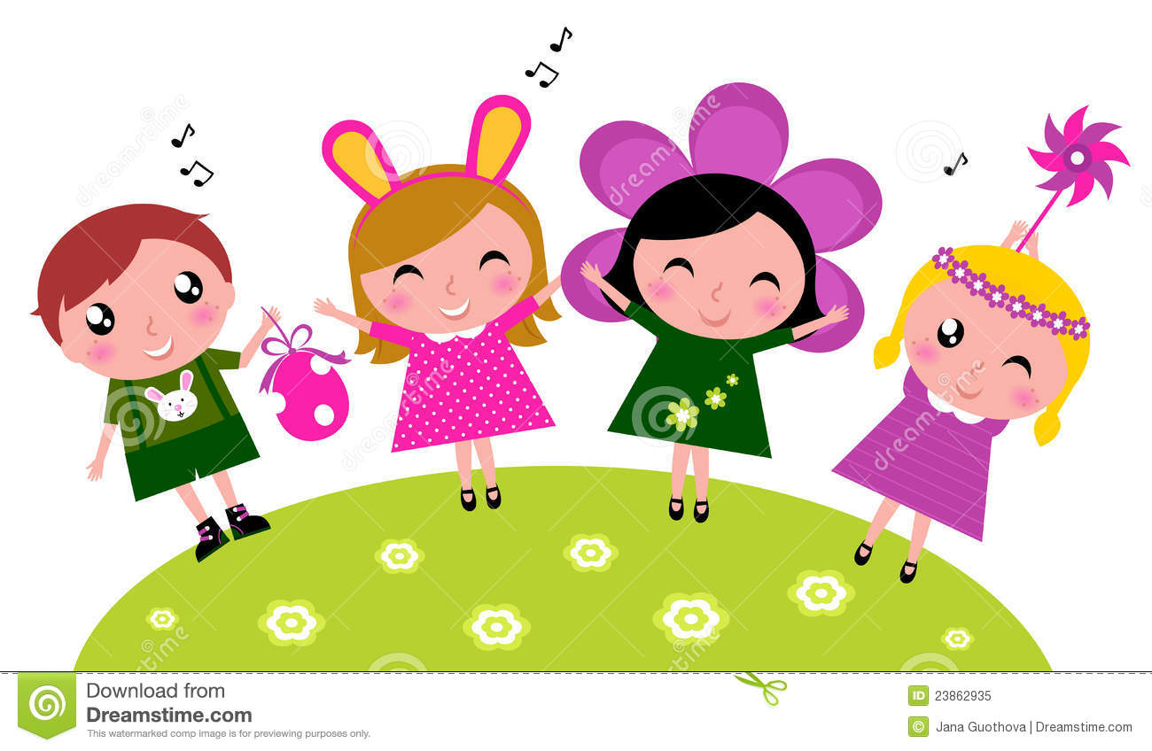 easter cute happy party kids spring celebration royalty free stock photo - Spring Pictures For Kids