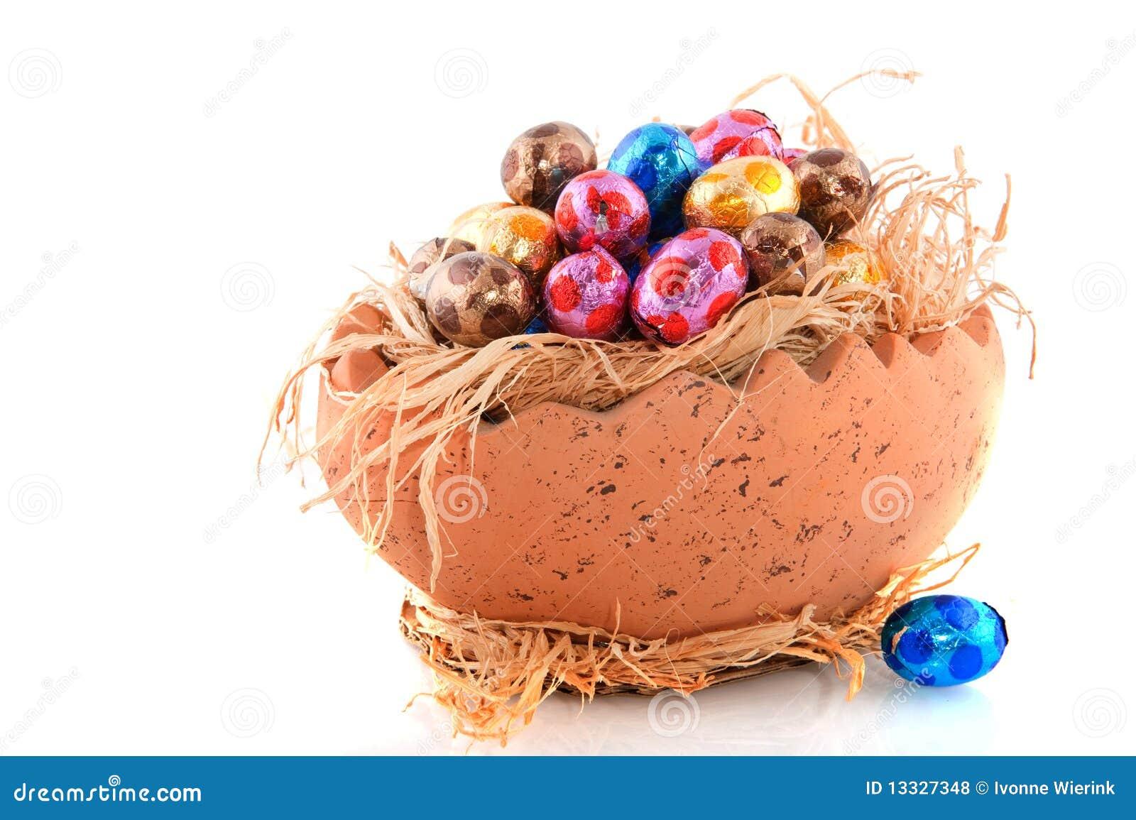 Easter czekoladowi jajka