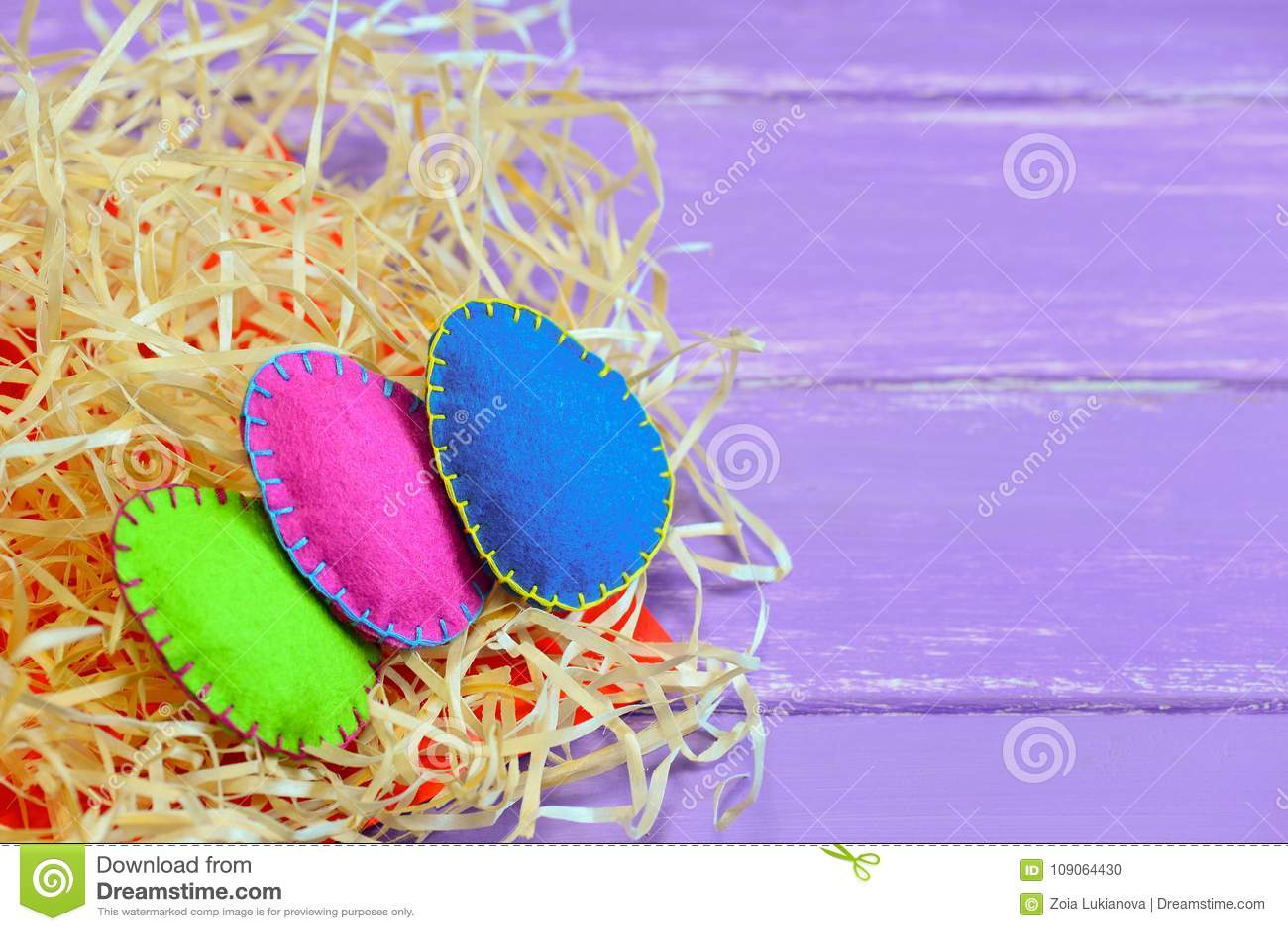felt eggs colourful felt eggs ornaments easter eggs background