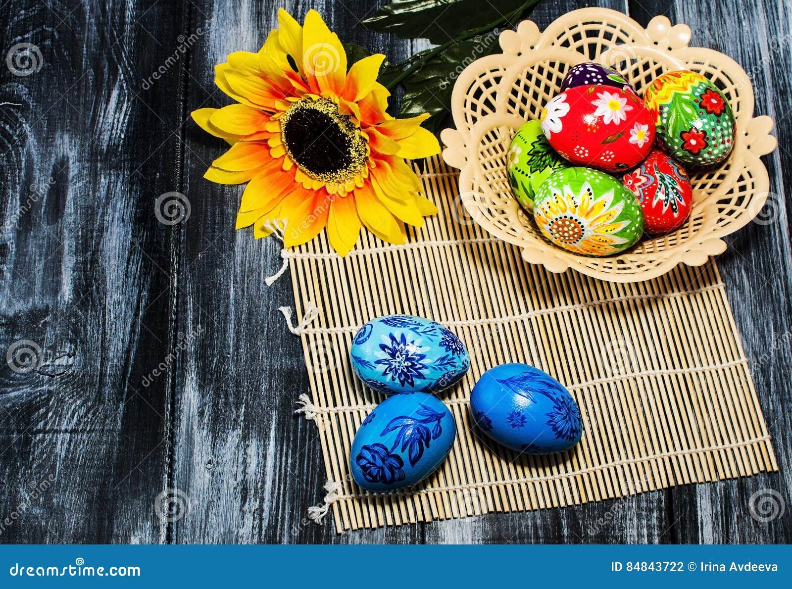 Easter/ Easter eggs basket